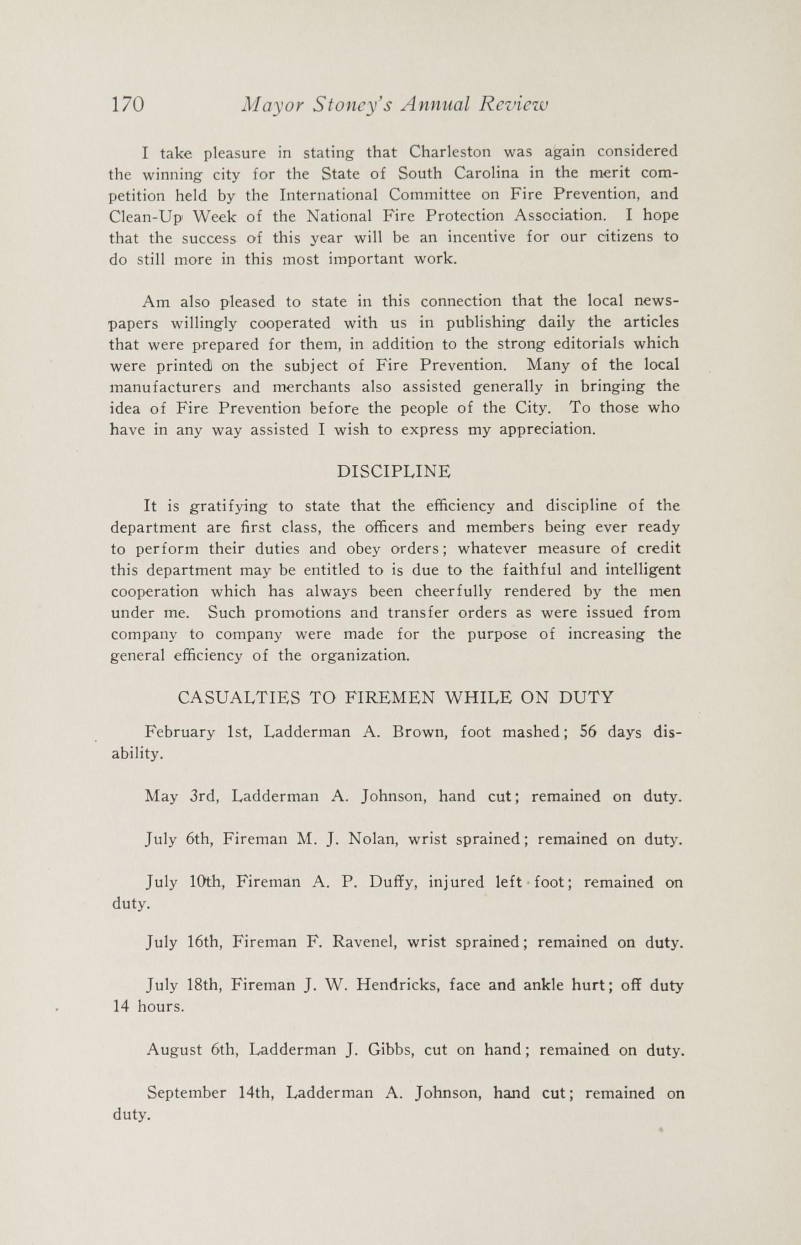 Charleston Yearbook, 1929, page 170