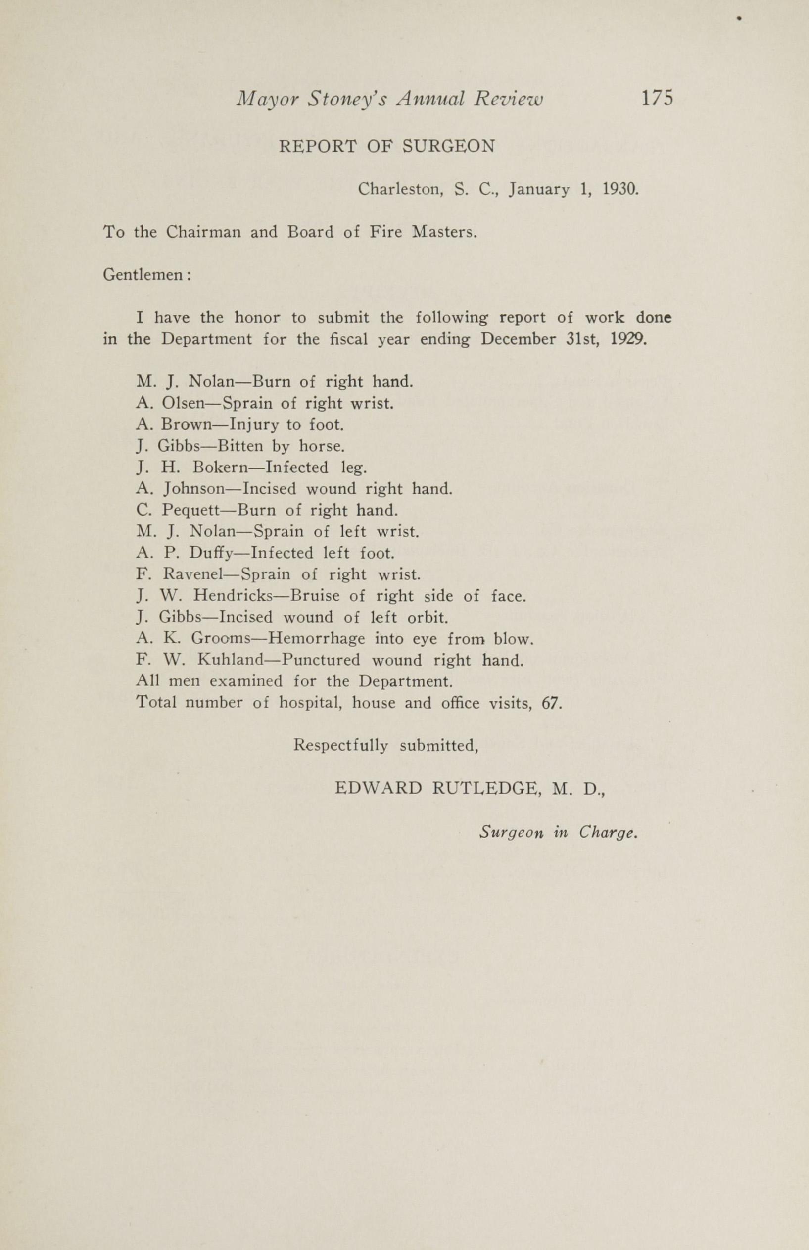 Charleston Yearbook, 1929, page 175