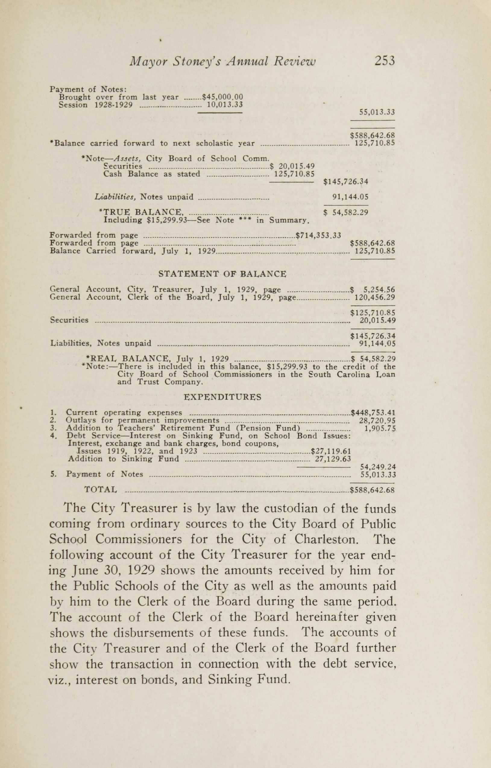 Charleston Yearbook, 1929, page 253
