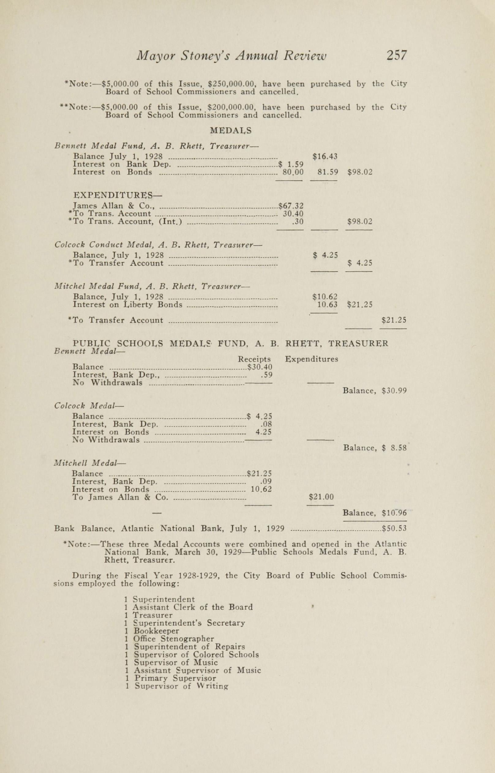 Charleston Yearbook, 1929, page 257