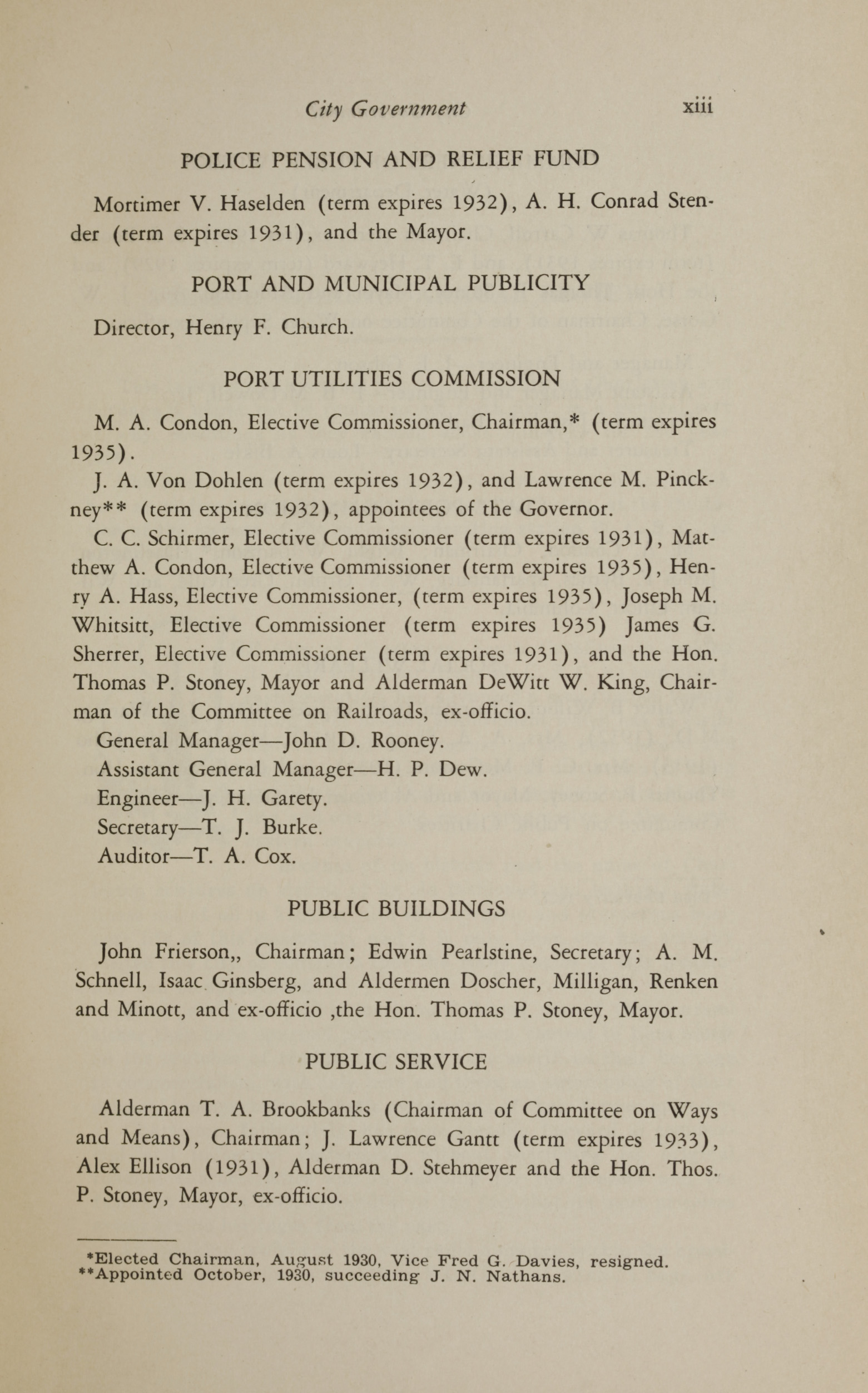 Charleston Yearbook, 1930, page xiii