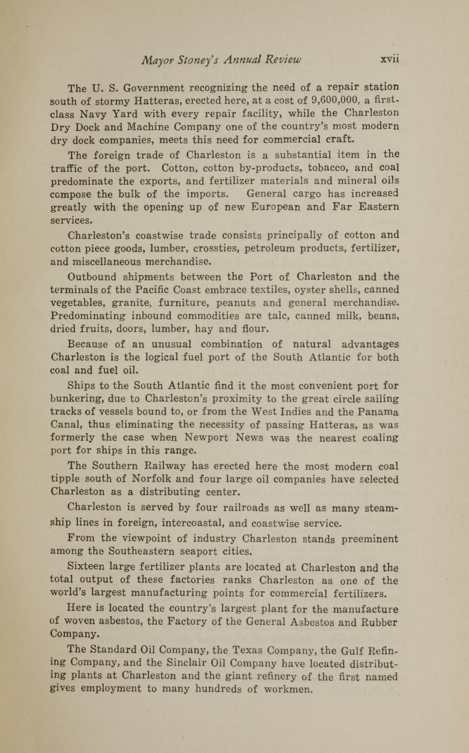 Charleston Yearbook, 1930, page xvii