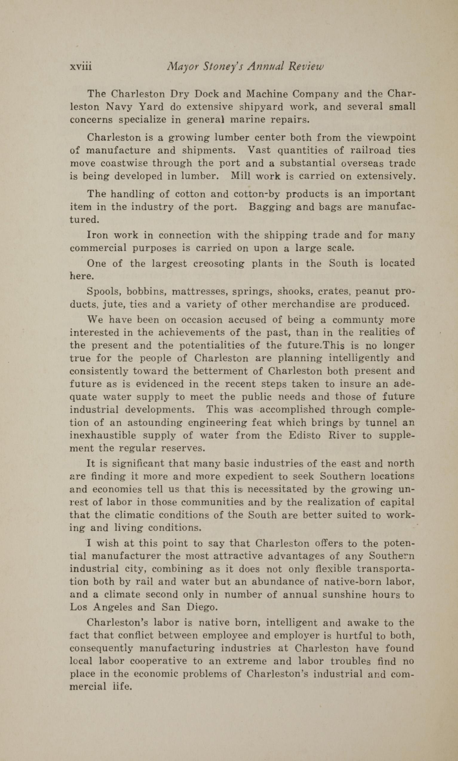 Charleston Yearbook, 1930, page xviii