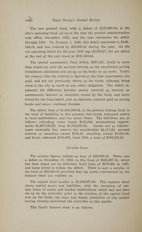 Charleston Yearbook, 1930, page xxxii