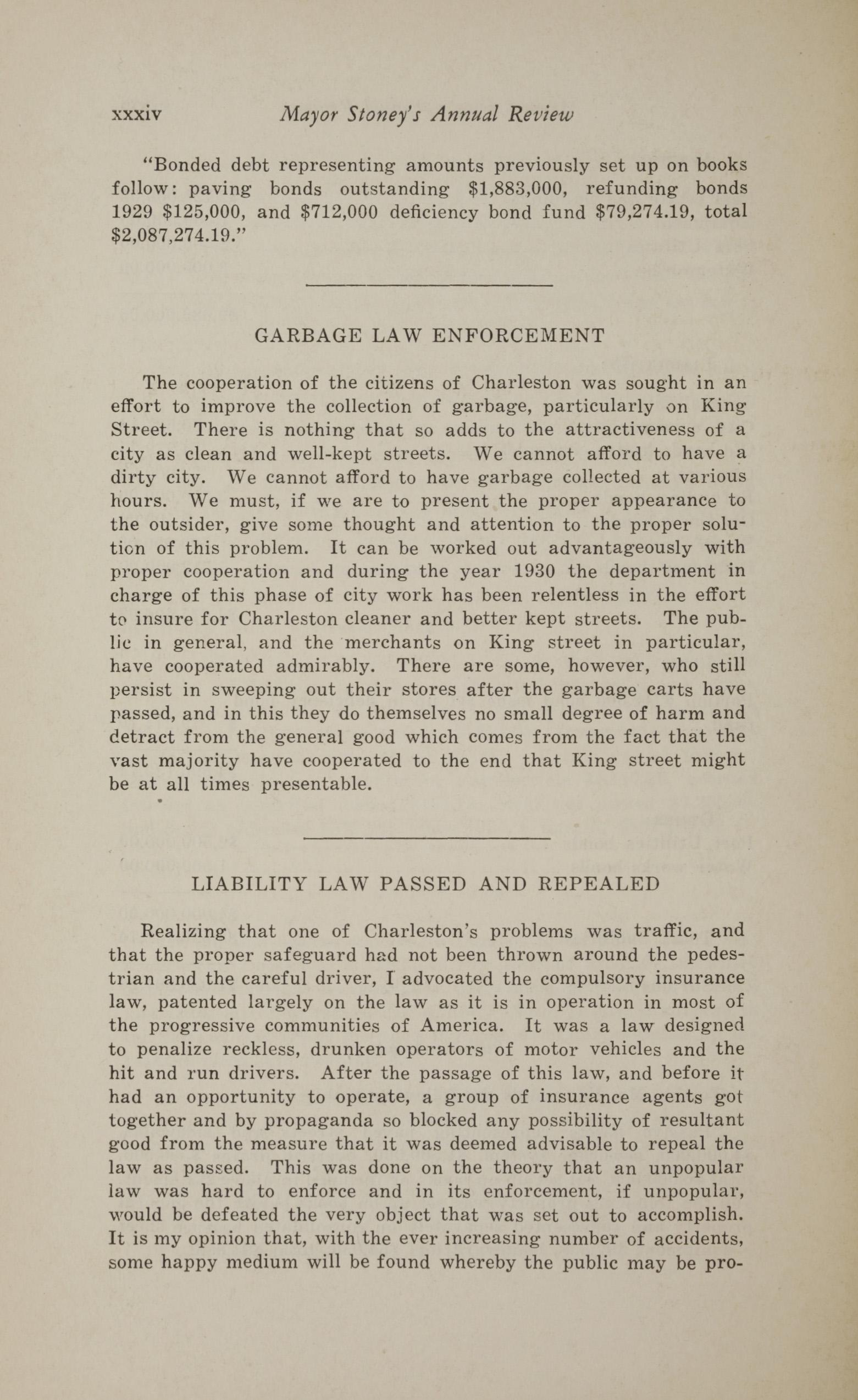 Charleston Yearbook, 1930, page xxxiv