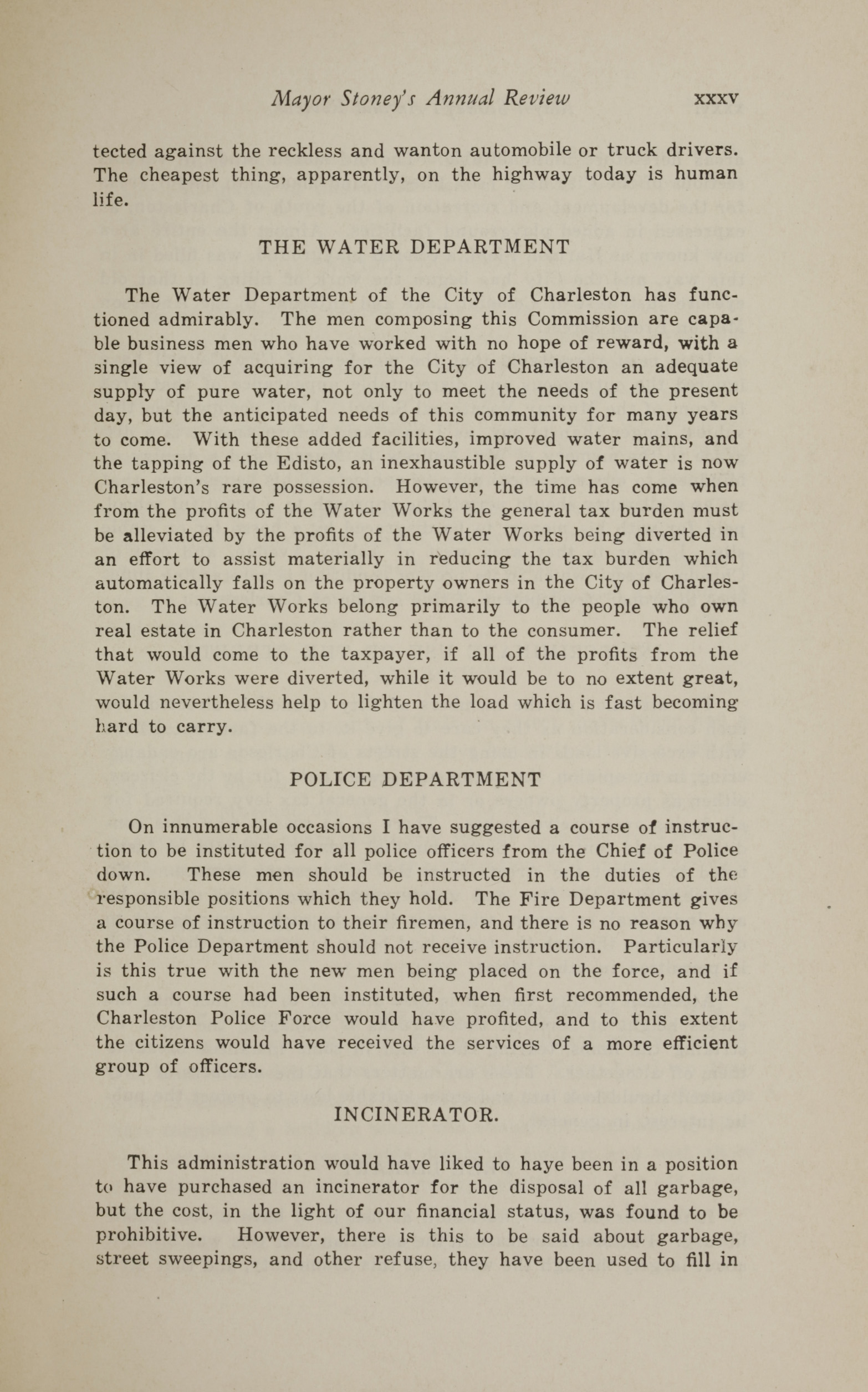 Charleston Yearbook, 1930, page xxxv