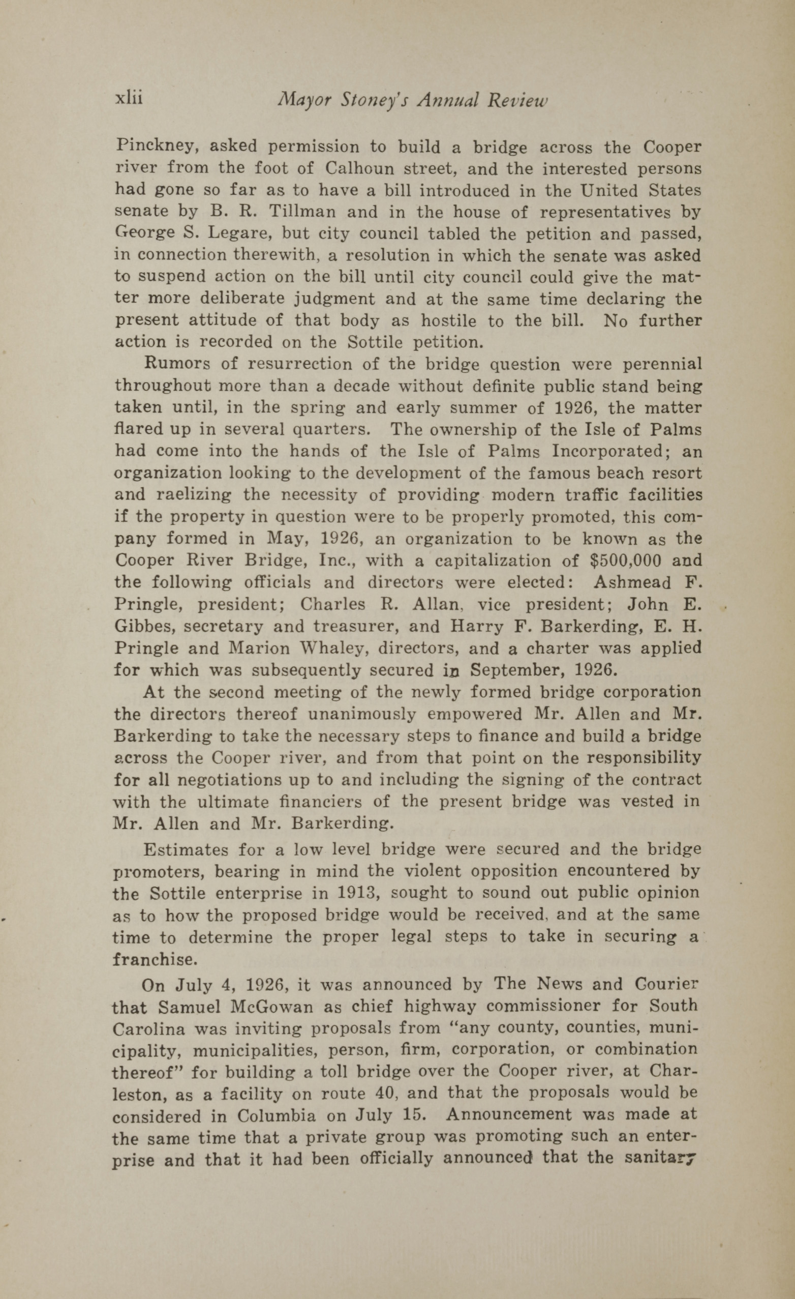 Charleston Yearbook, 1930, page xlii