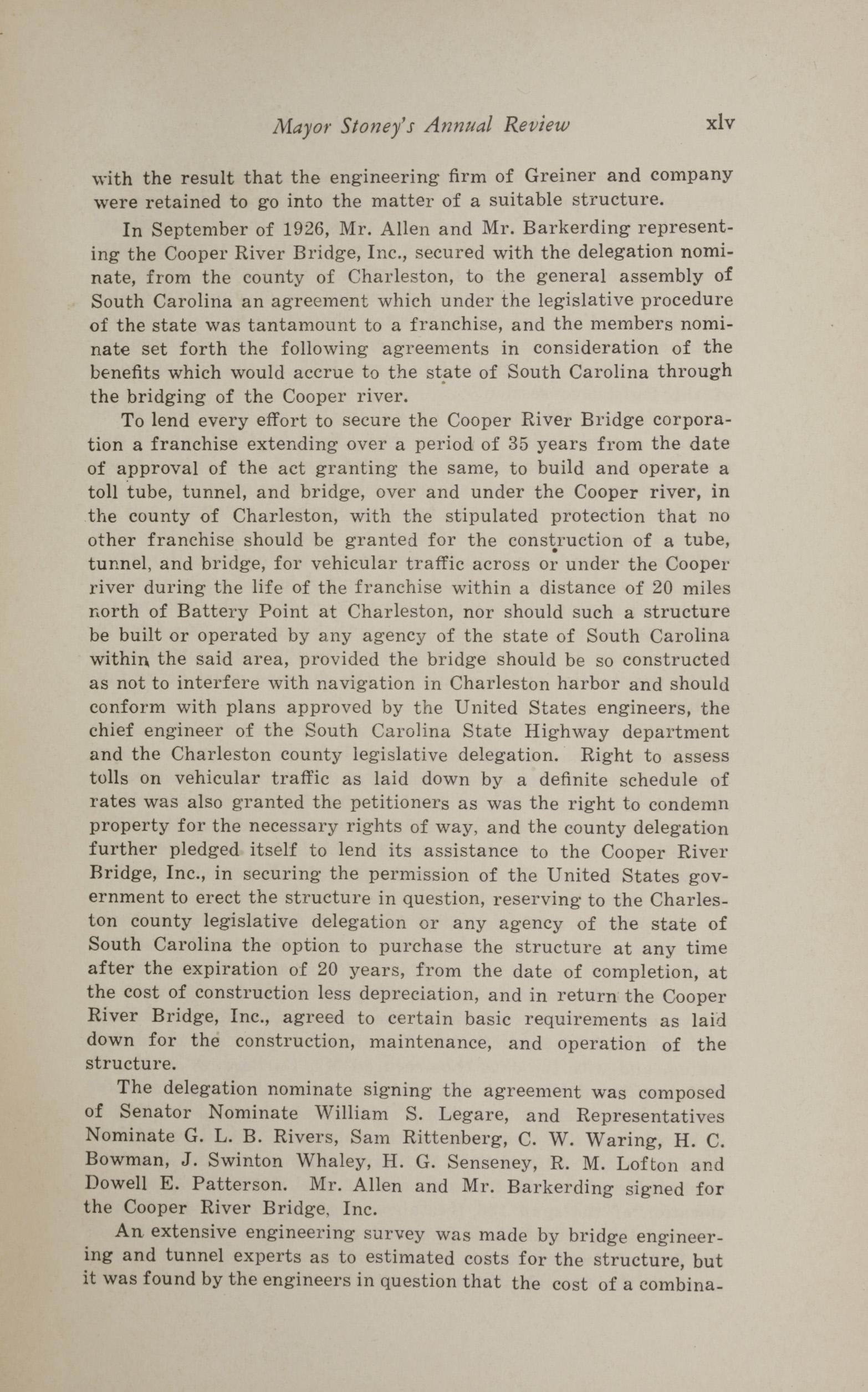 Charleston Yearbook, 1930, page xlv