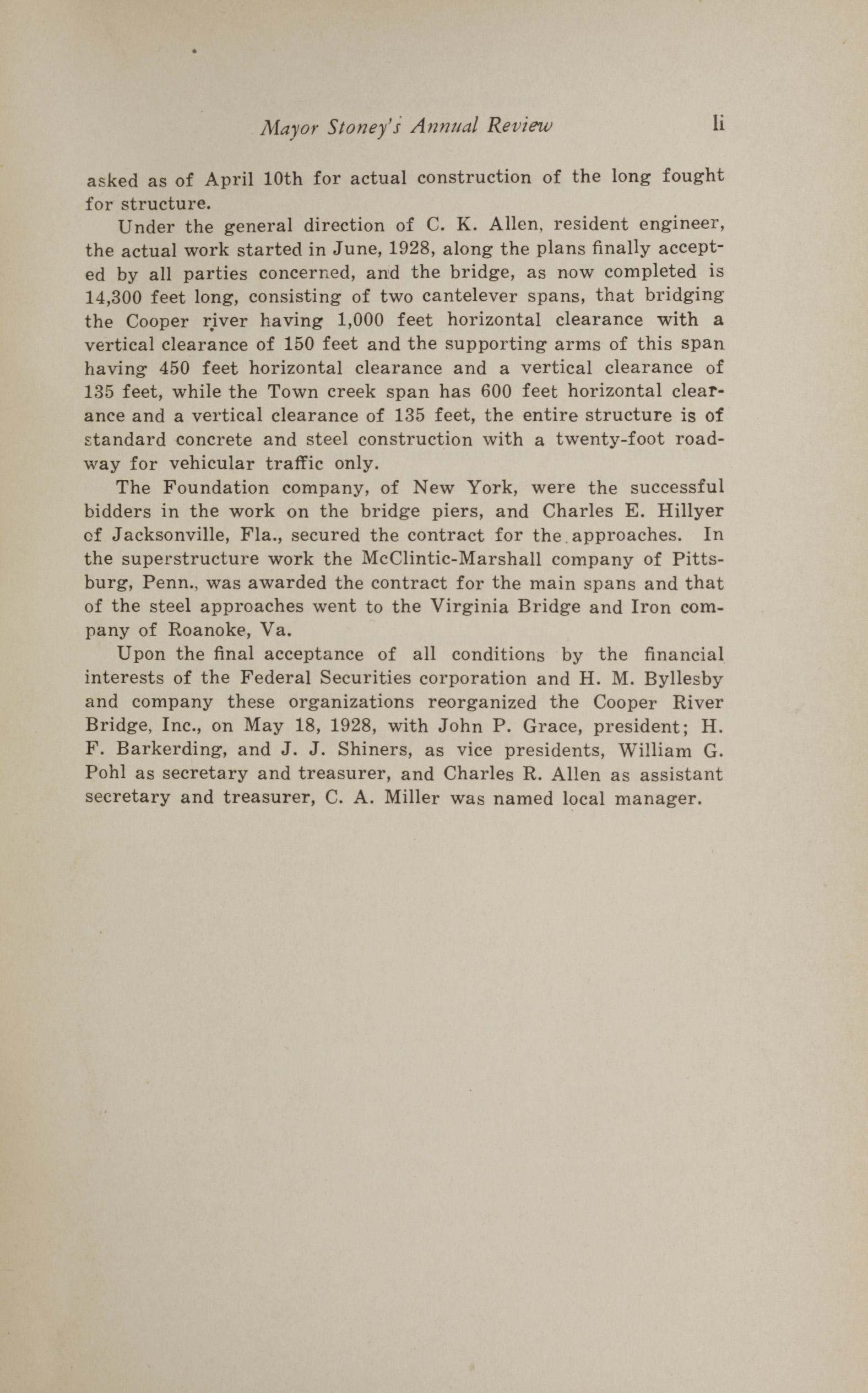 Charleston Yearbook, 1930, page li