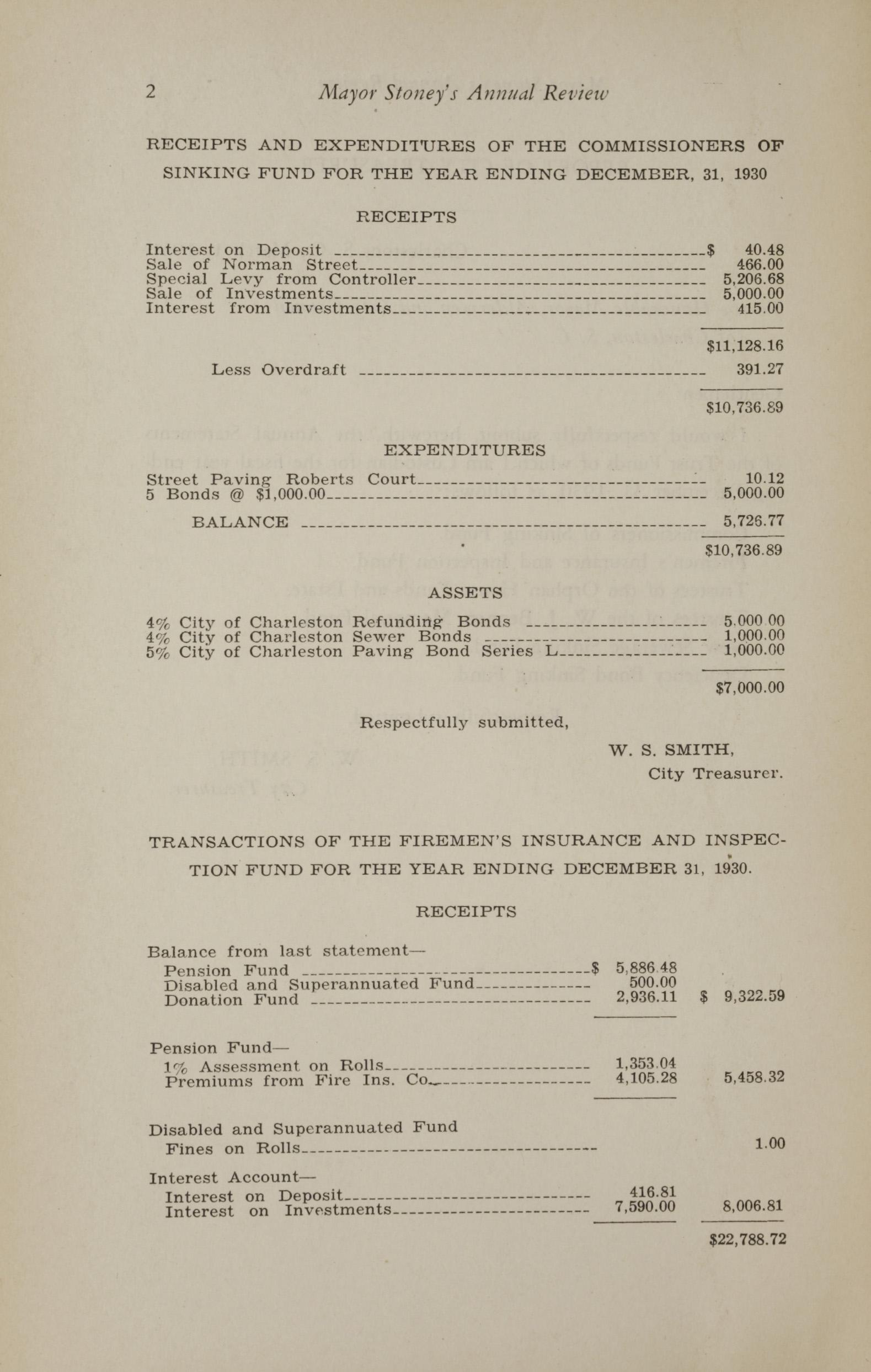 Charleston Yearbook, 1930, page 2