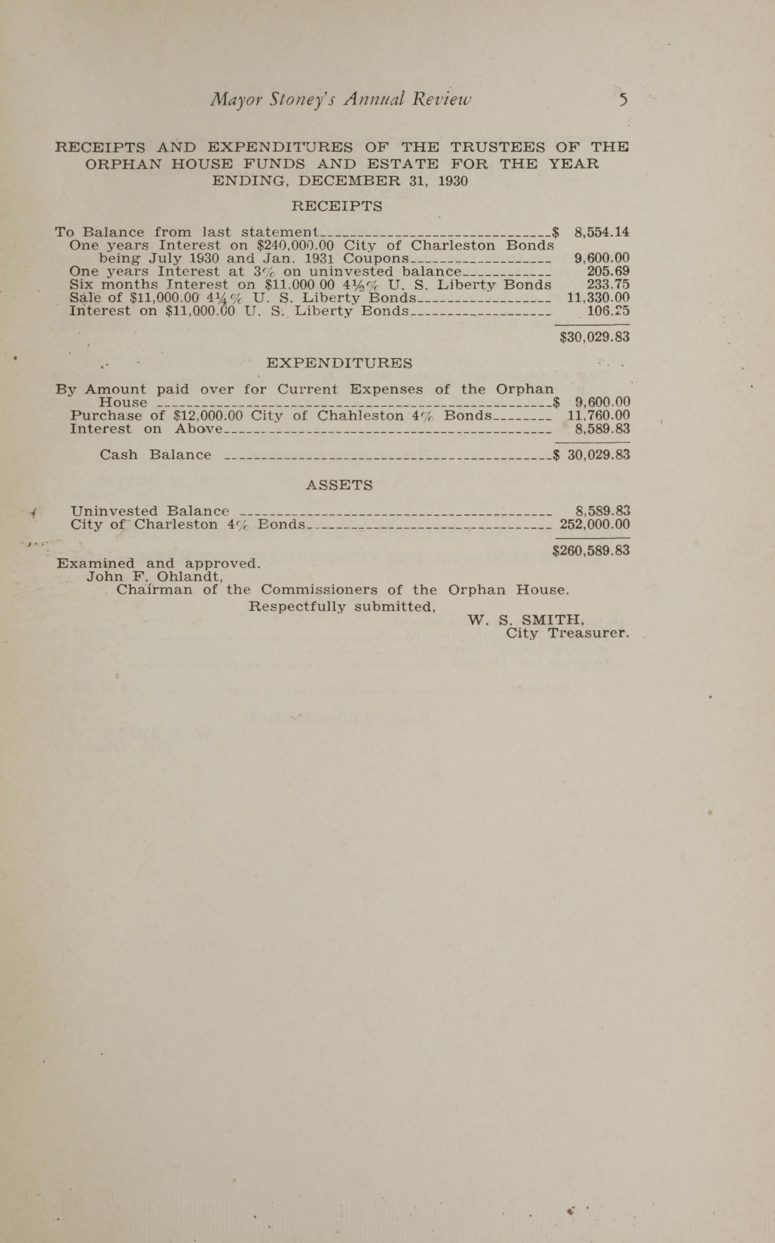 Charleston Yearbook, 1930, page 5
