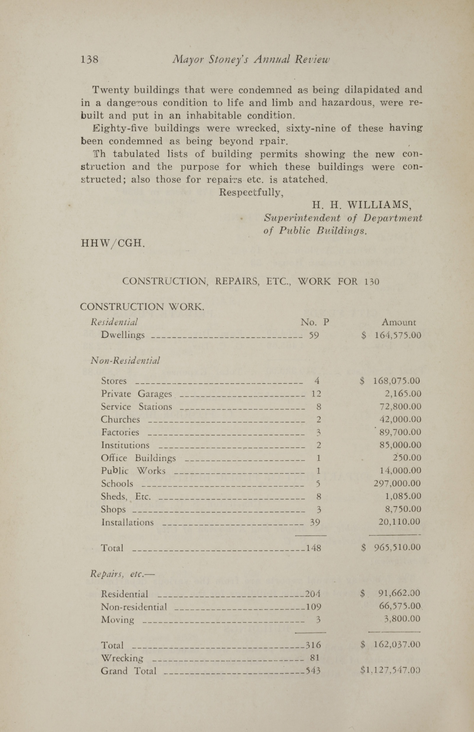 Charleston Yearbook, 1930, page 138