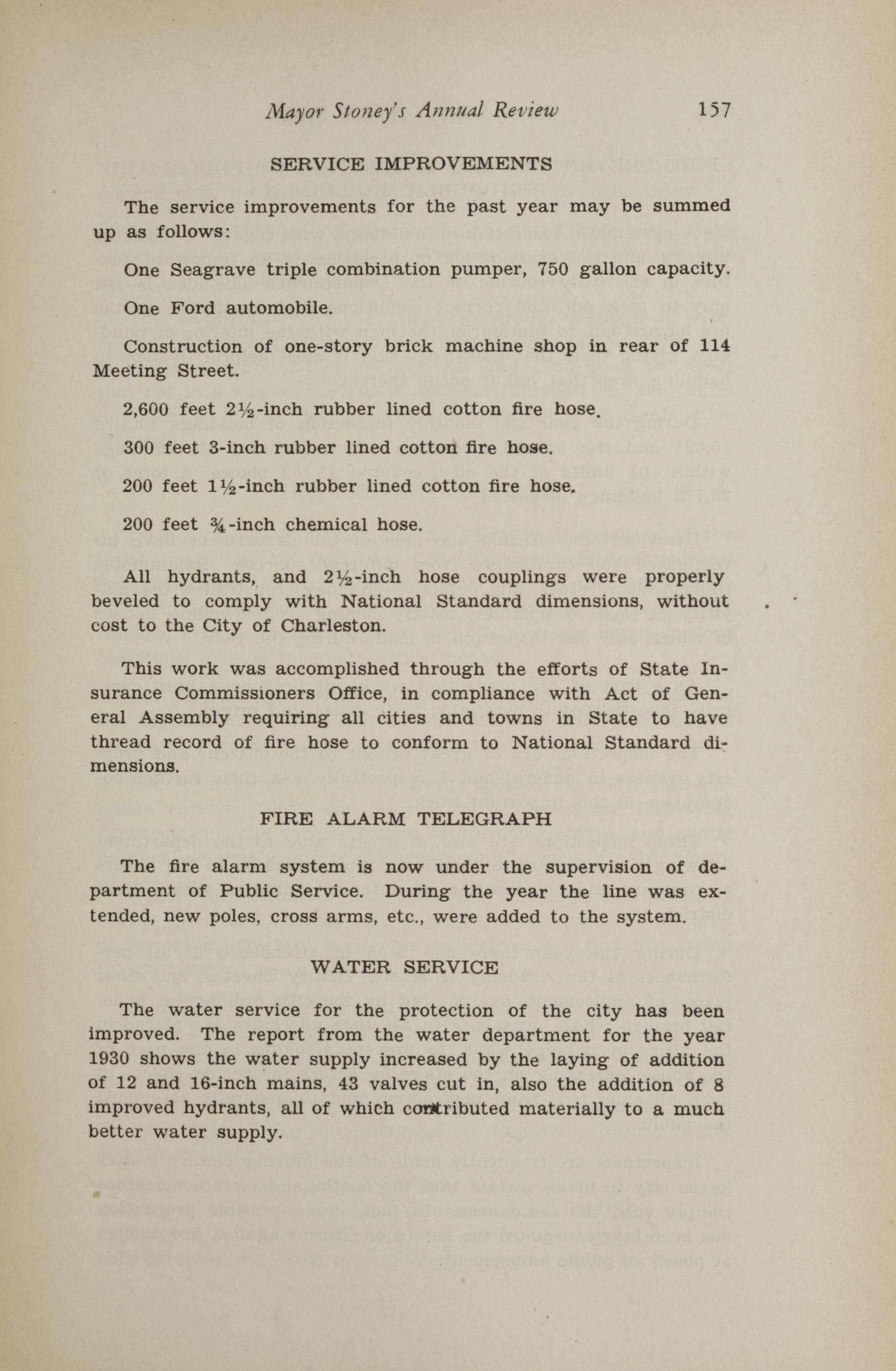 Charleston Yearbook, 1930, page 157