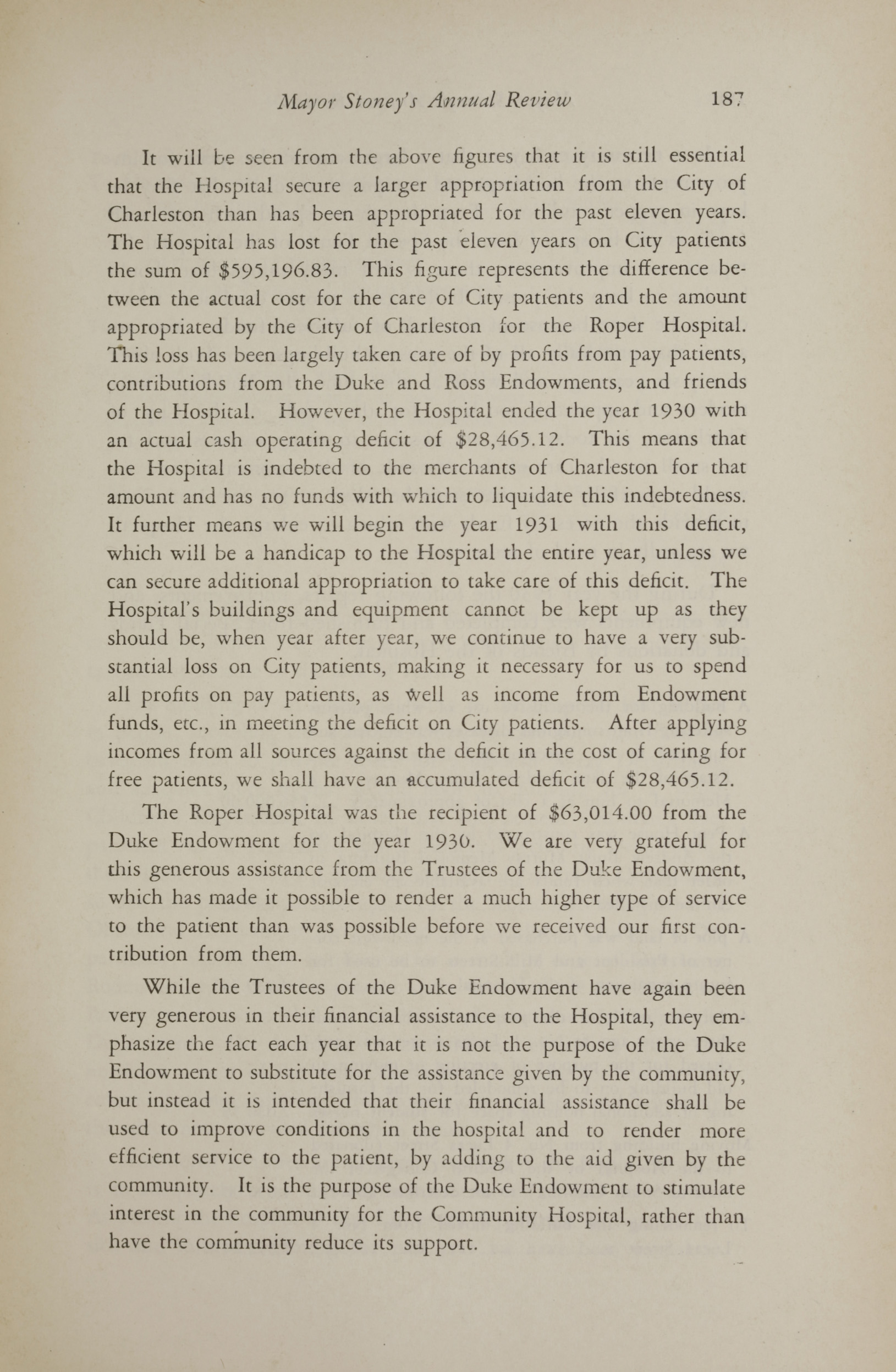 Charleston Yearbook, 1930, page 187