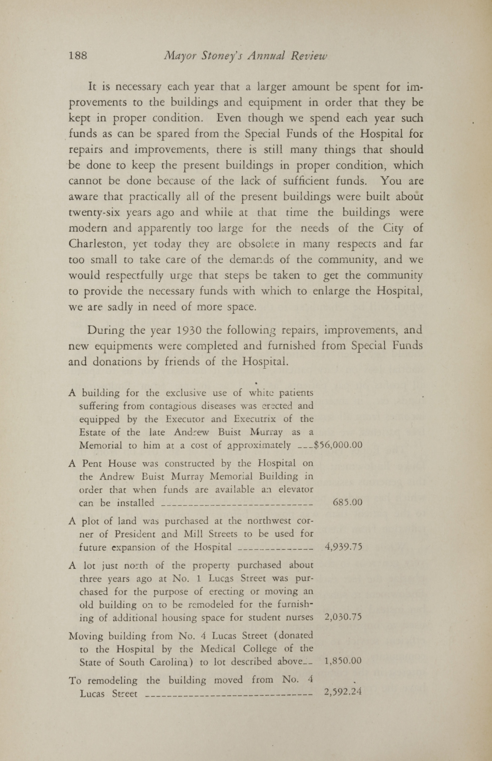 Charleston Yearbook, 1930, page 188
