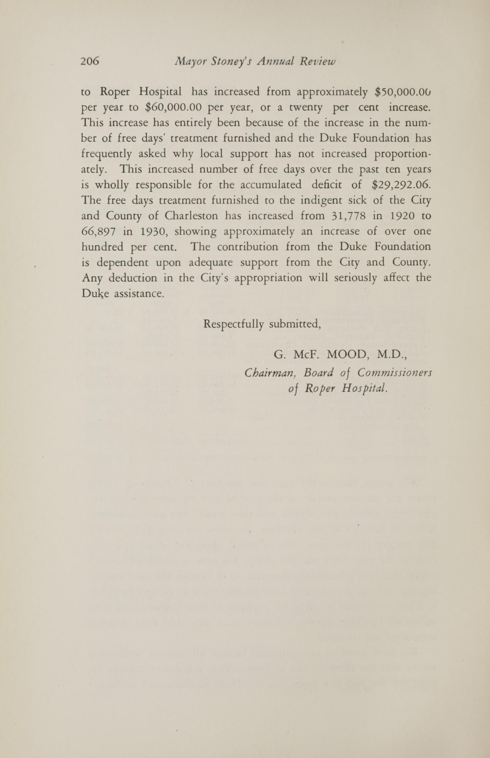Charleston Yearbook, 1930, page 206