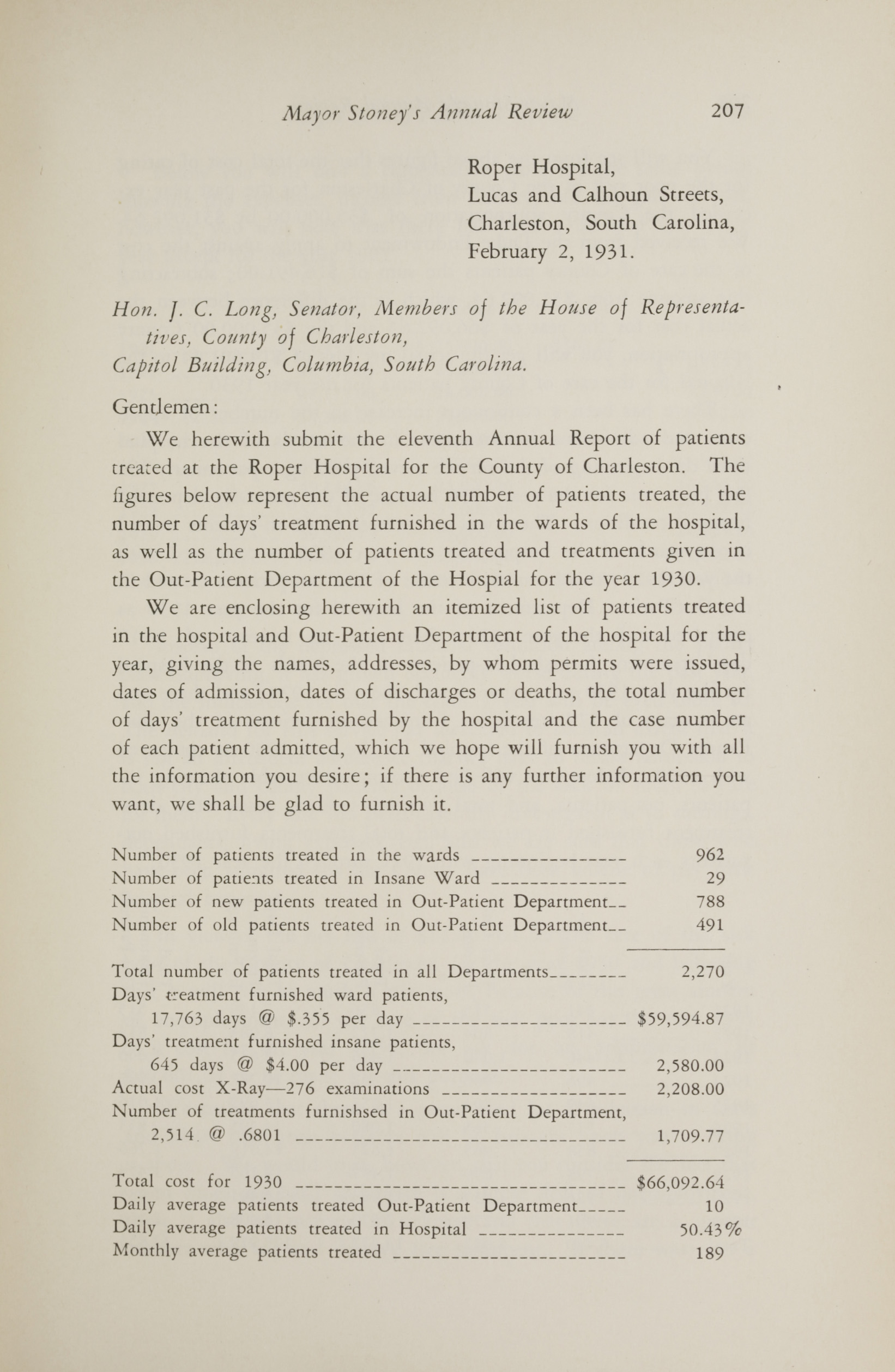 Charleston Yearbook, 1930, page 207