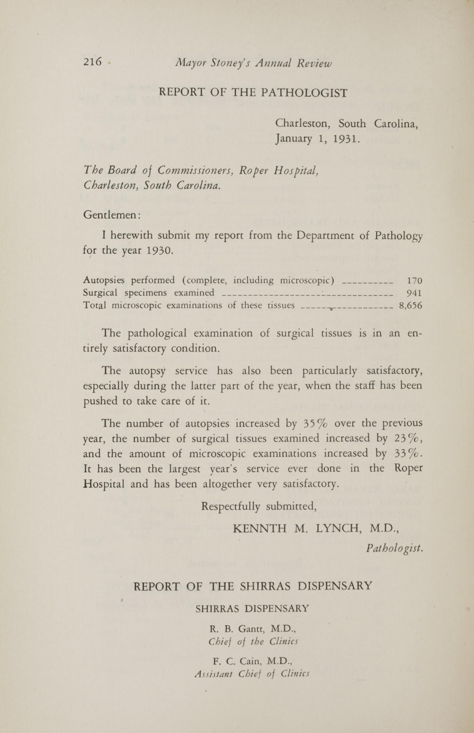 Charleston Yearbook, 1930, page 216