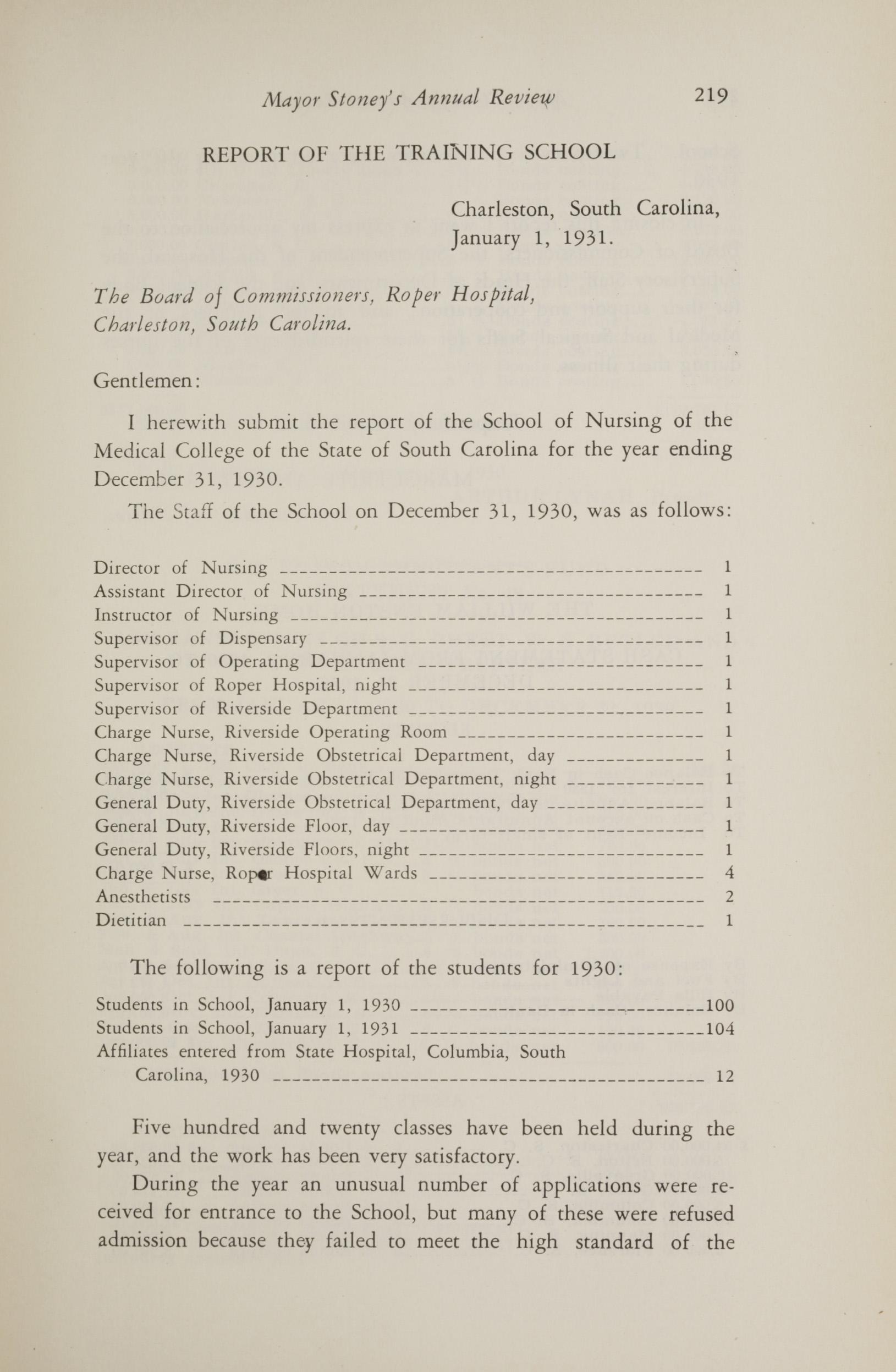 Charleston Yearbook, 1930, page 219