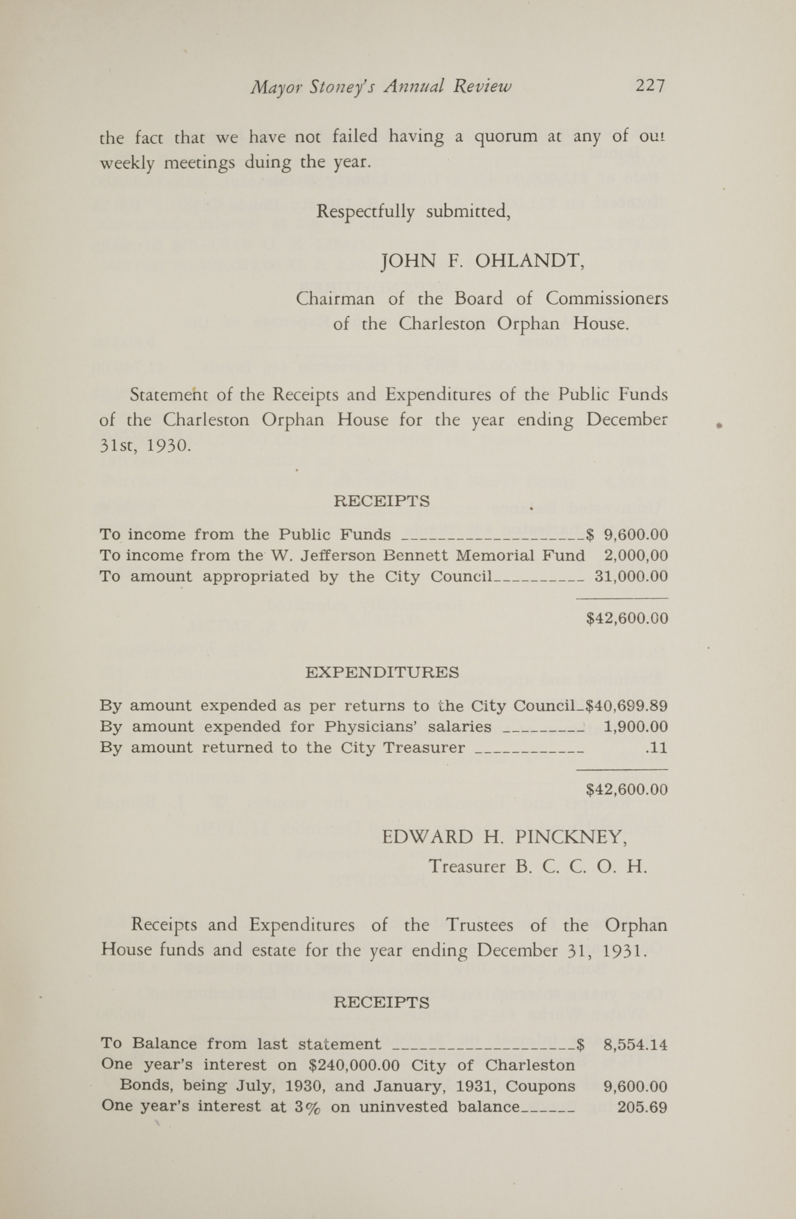 Charleston Yearbook, 1930, page 227