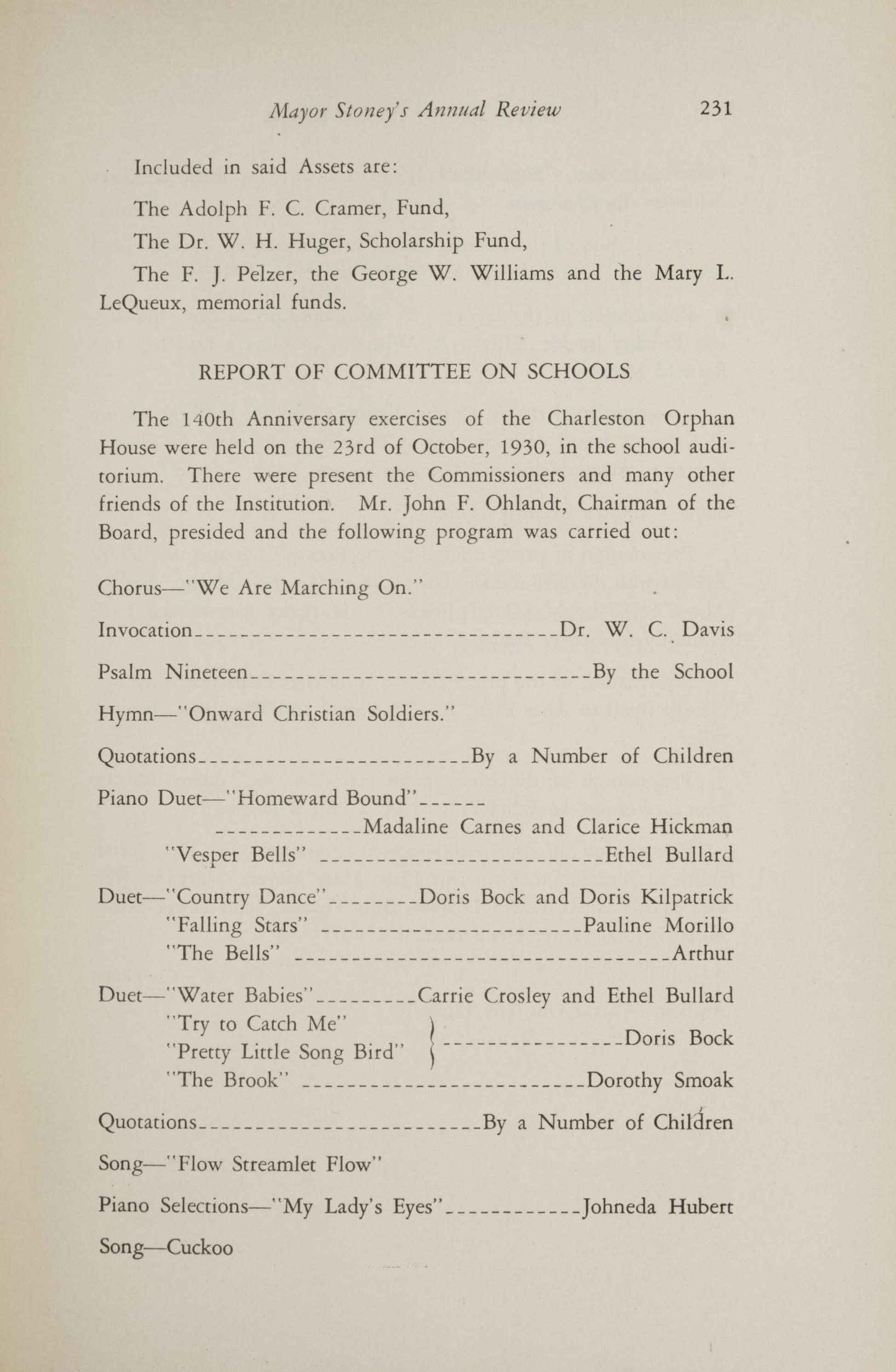 Charleston Yearbook, 1930, page 231