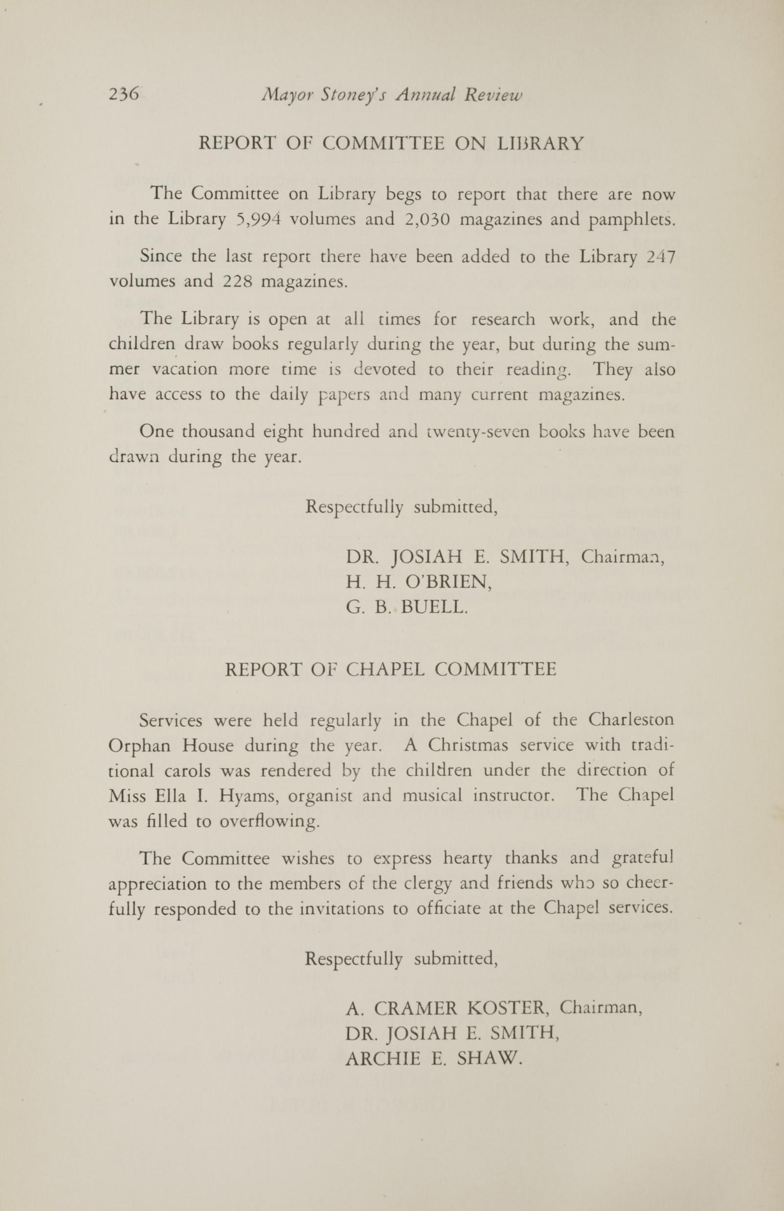 Charleston Yearbook, 1930, page 236