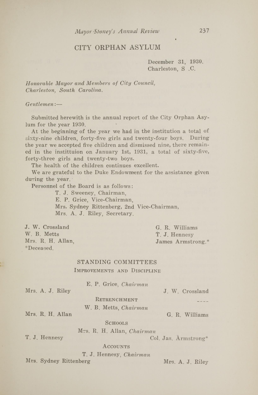 Charleston Yearbook, 1930, page 237