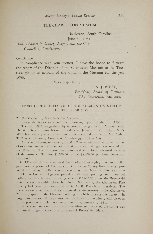 Charleston Yearbook, 1930, page 251