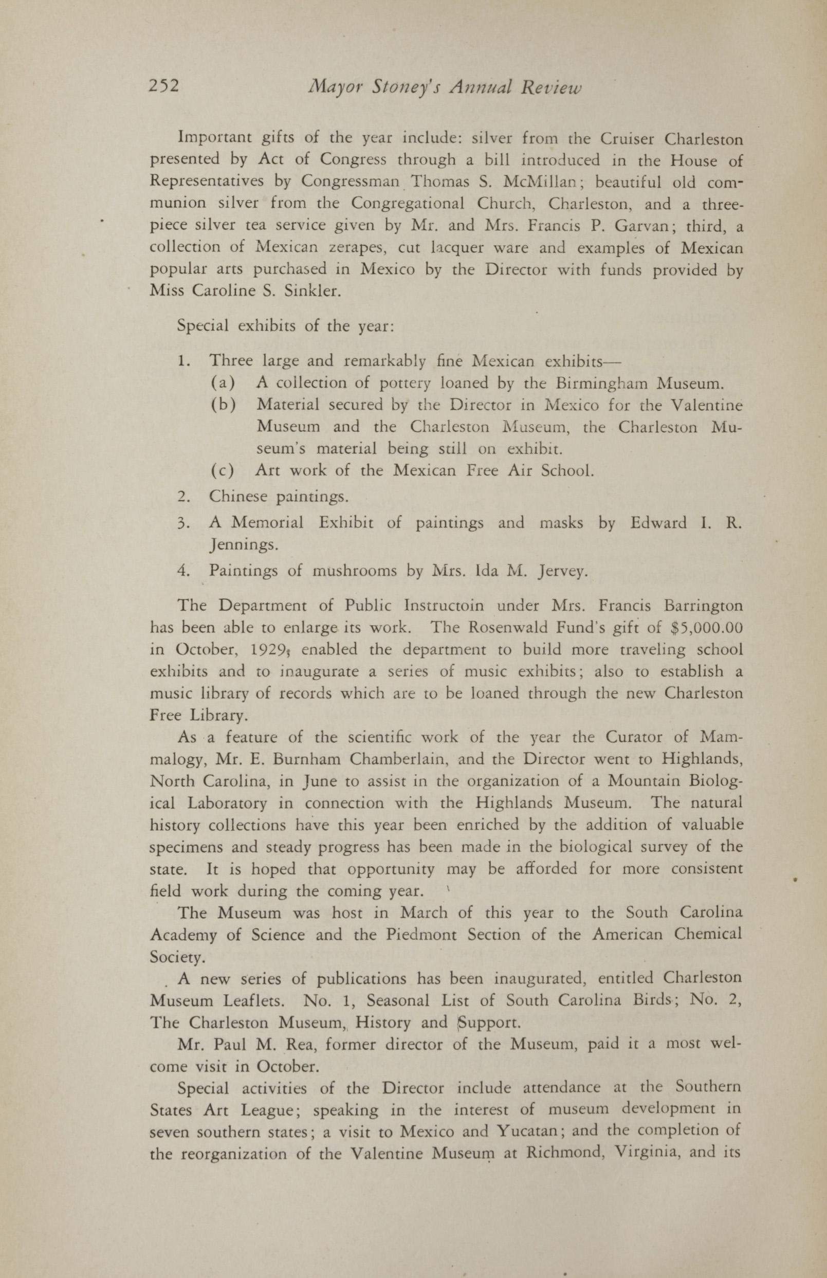 Charleston Yearbook, 1930, page 252