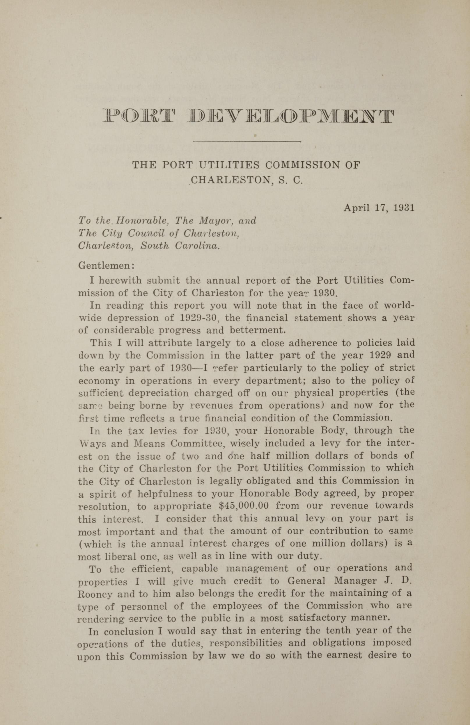 Charleston Yearbook, 1930, page 254