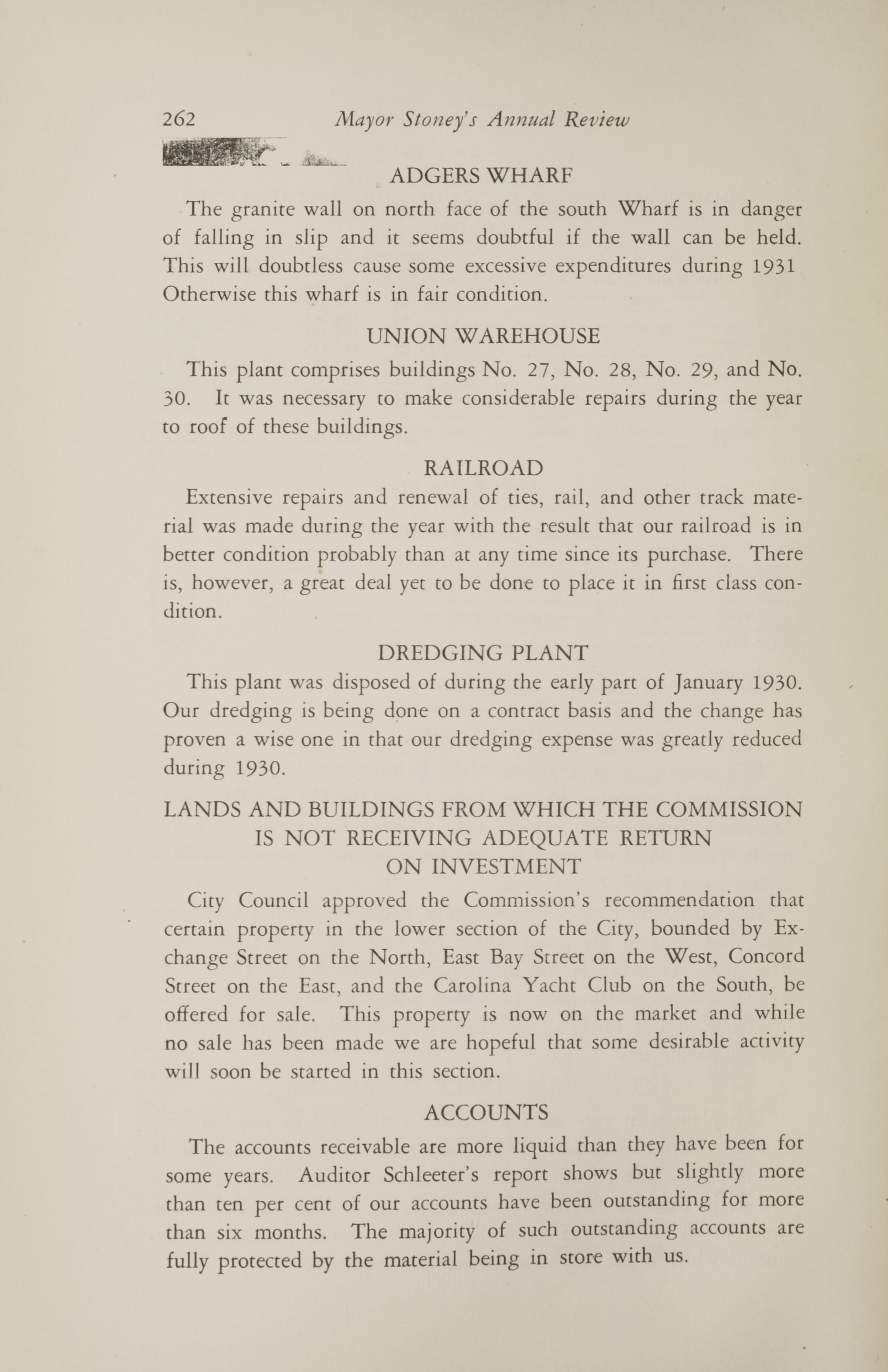 Charleston Yearbook, 1930, page 262