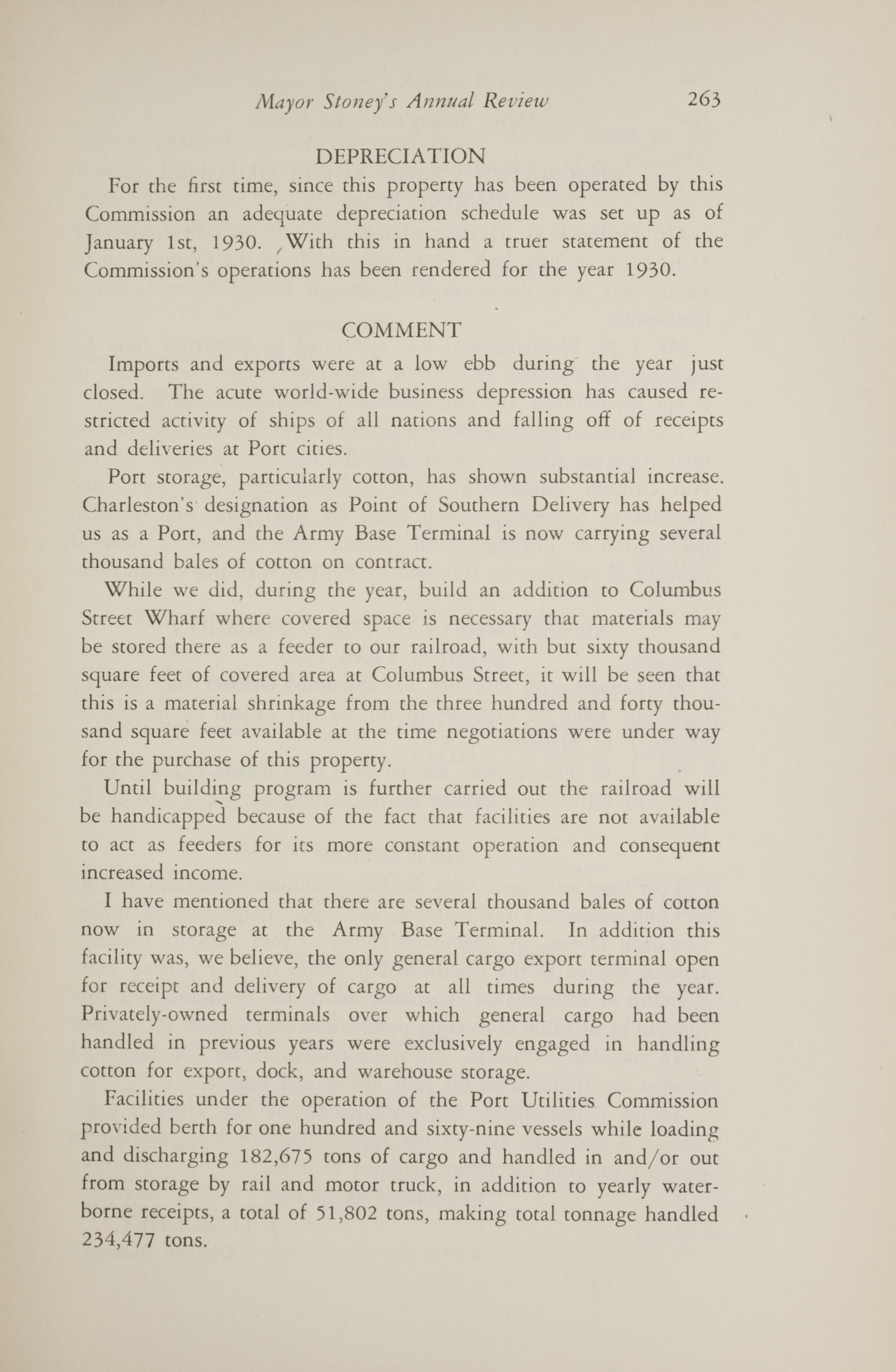 Charleston Yearbook, 1930, page 263