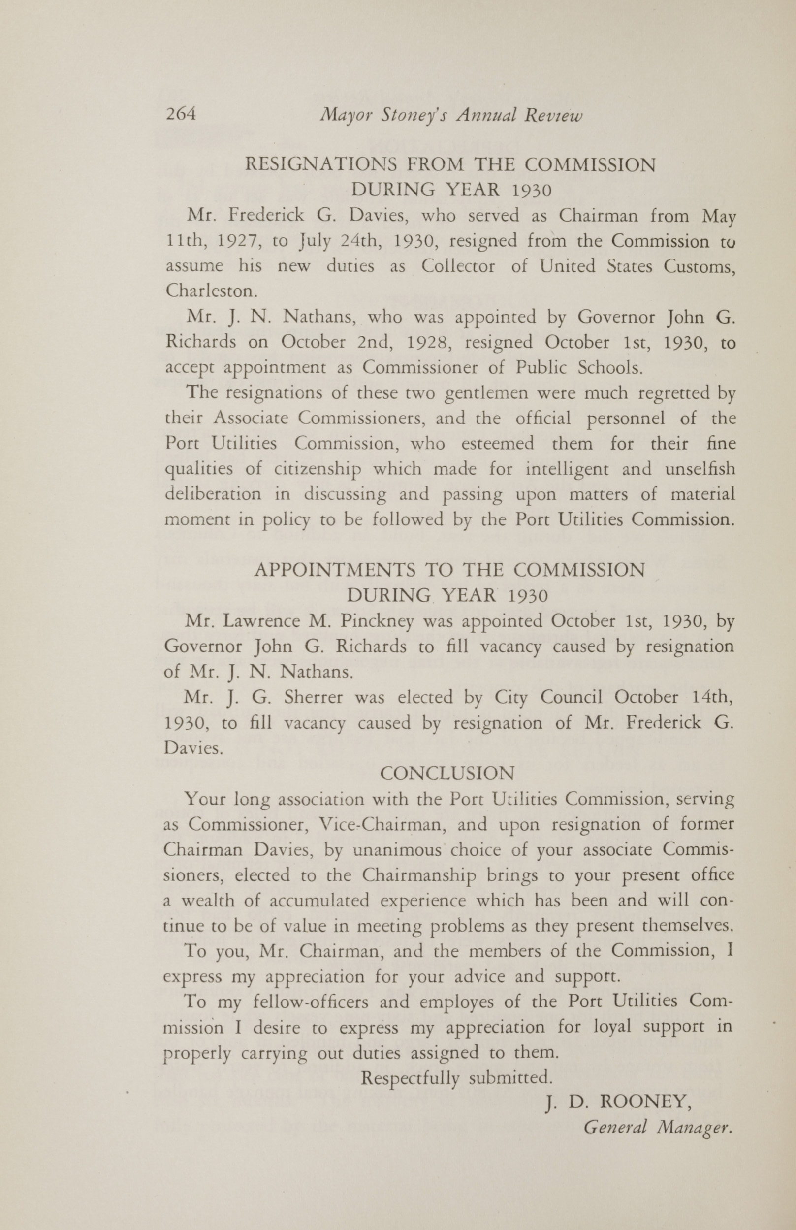 Charleston Yearbook, 1930, page 264