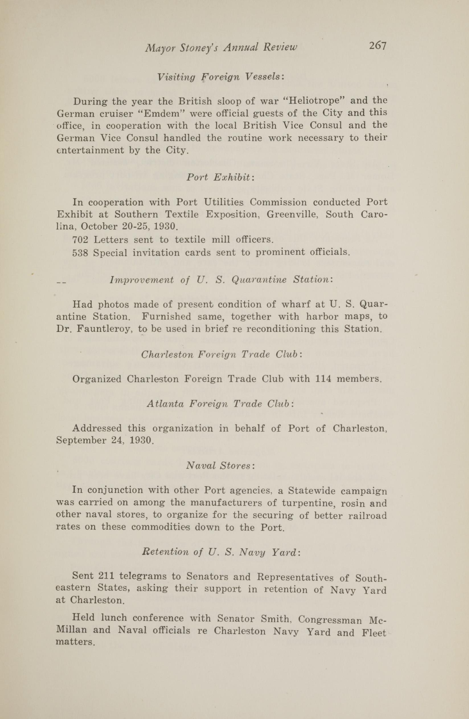 Charleston Yearbook, 1930, page 267