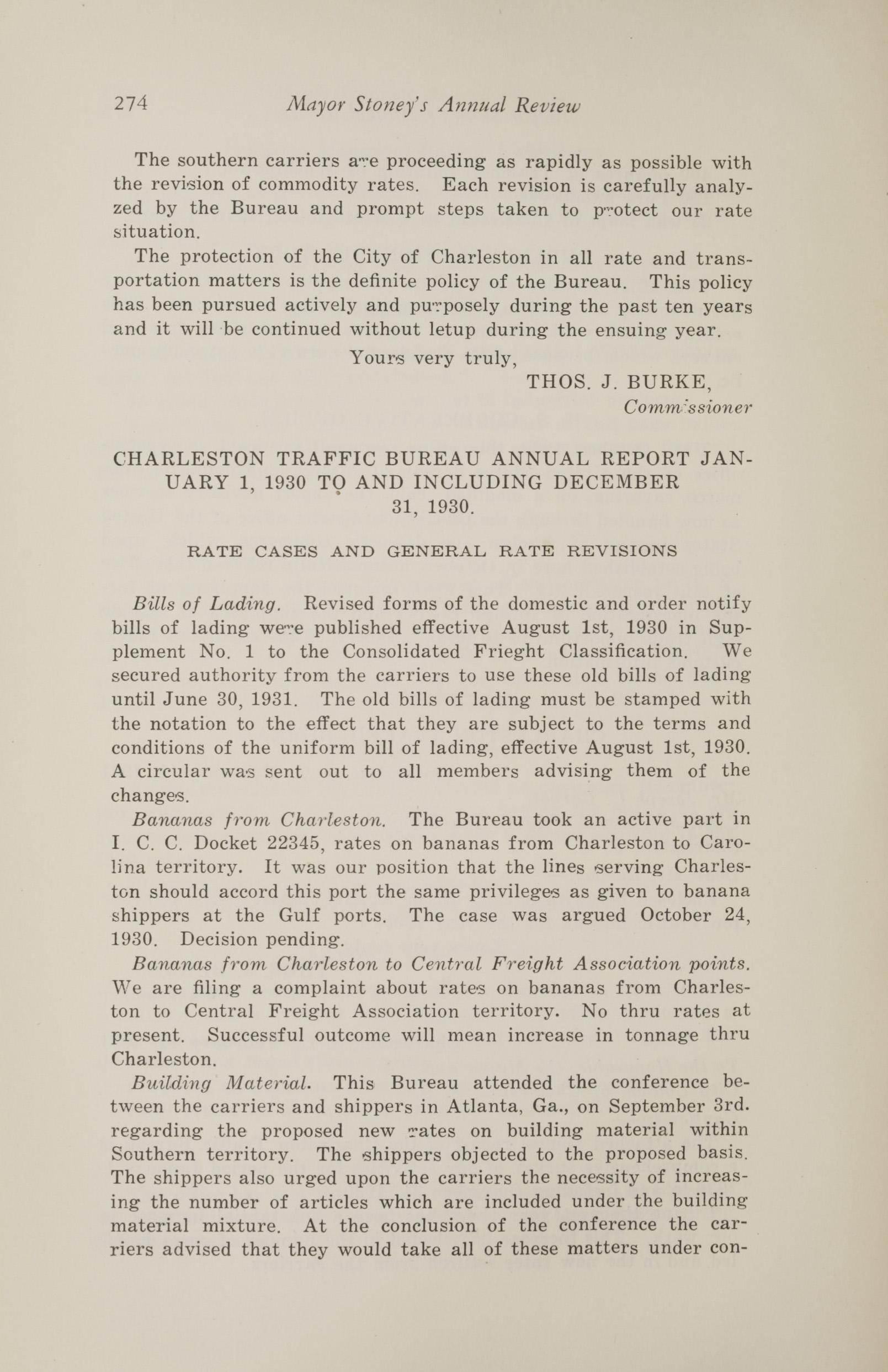 Charleston Yearbook, 1930, page 274