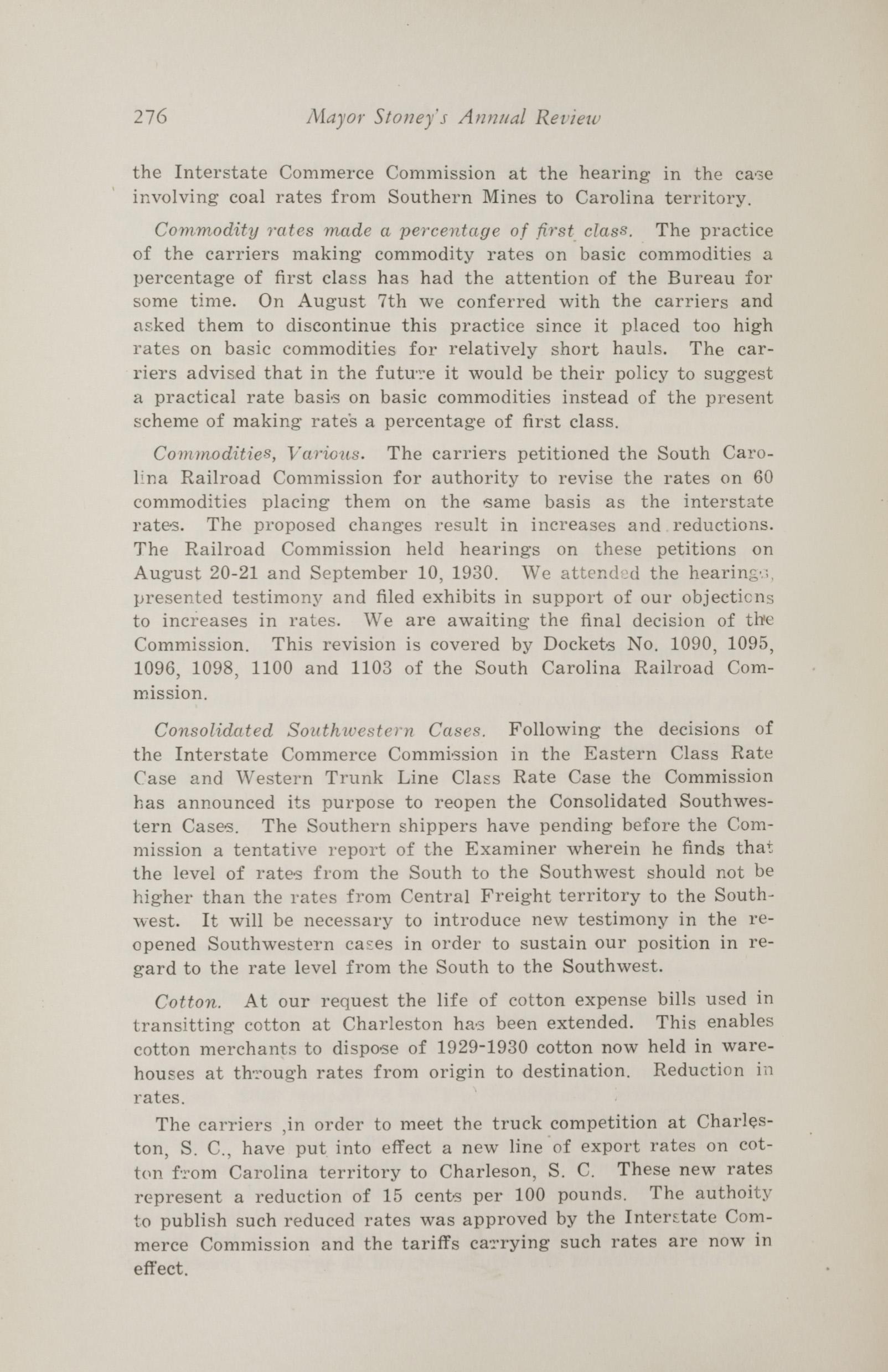 Charleston Yearbook, 1930, page 276