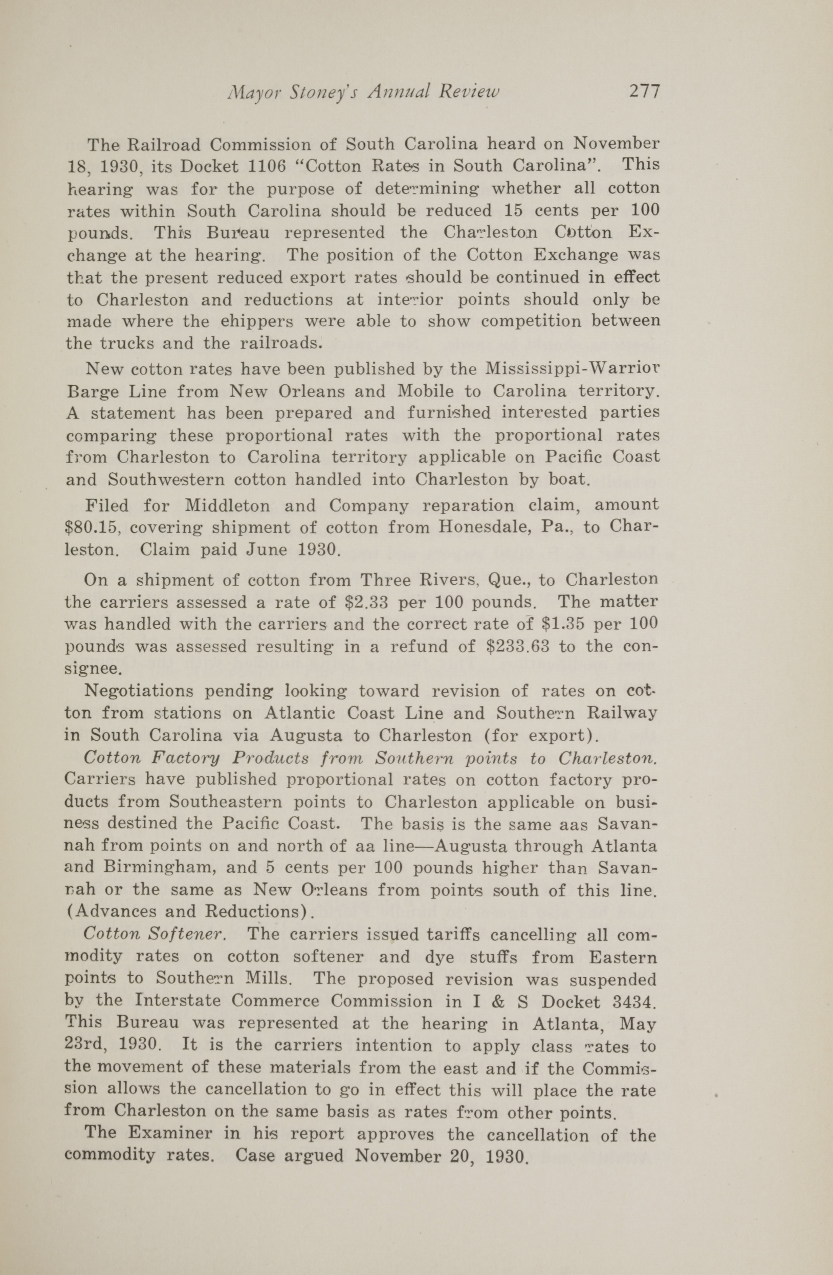 Charleston Yearbook, 1930, page 277