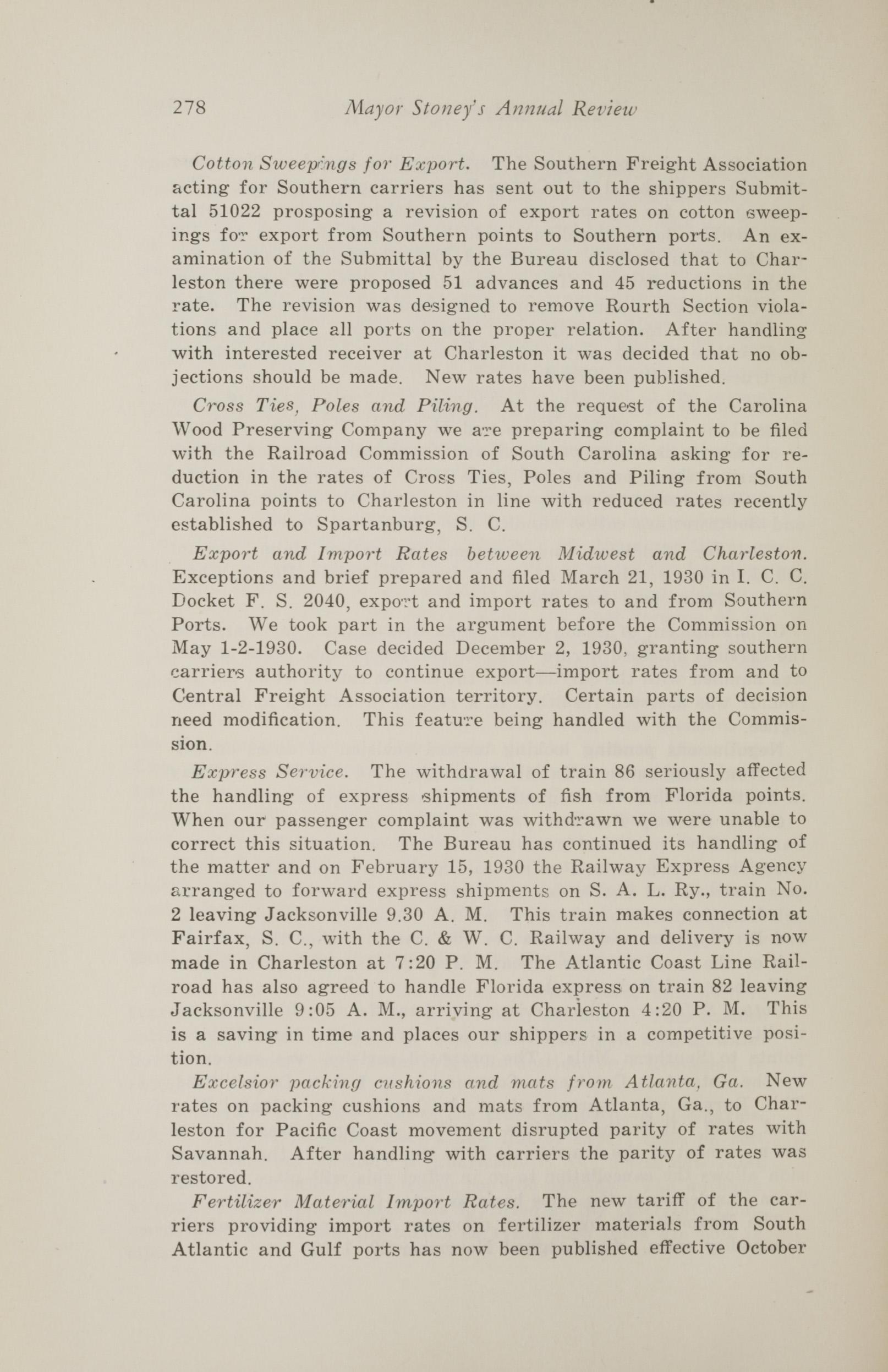 Charleston Yearbook, 1930, page 278