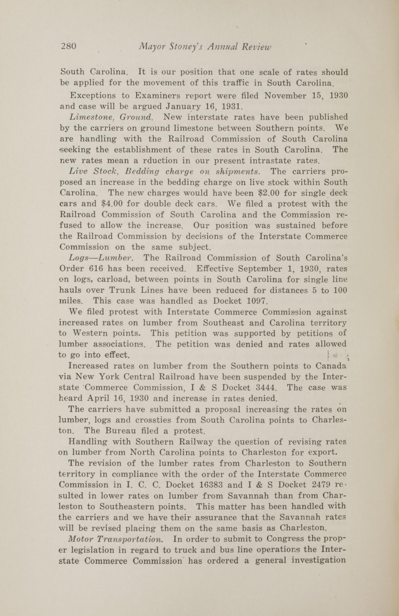 Charleston Yearbook, 1930, page 280