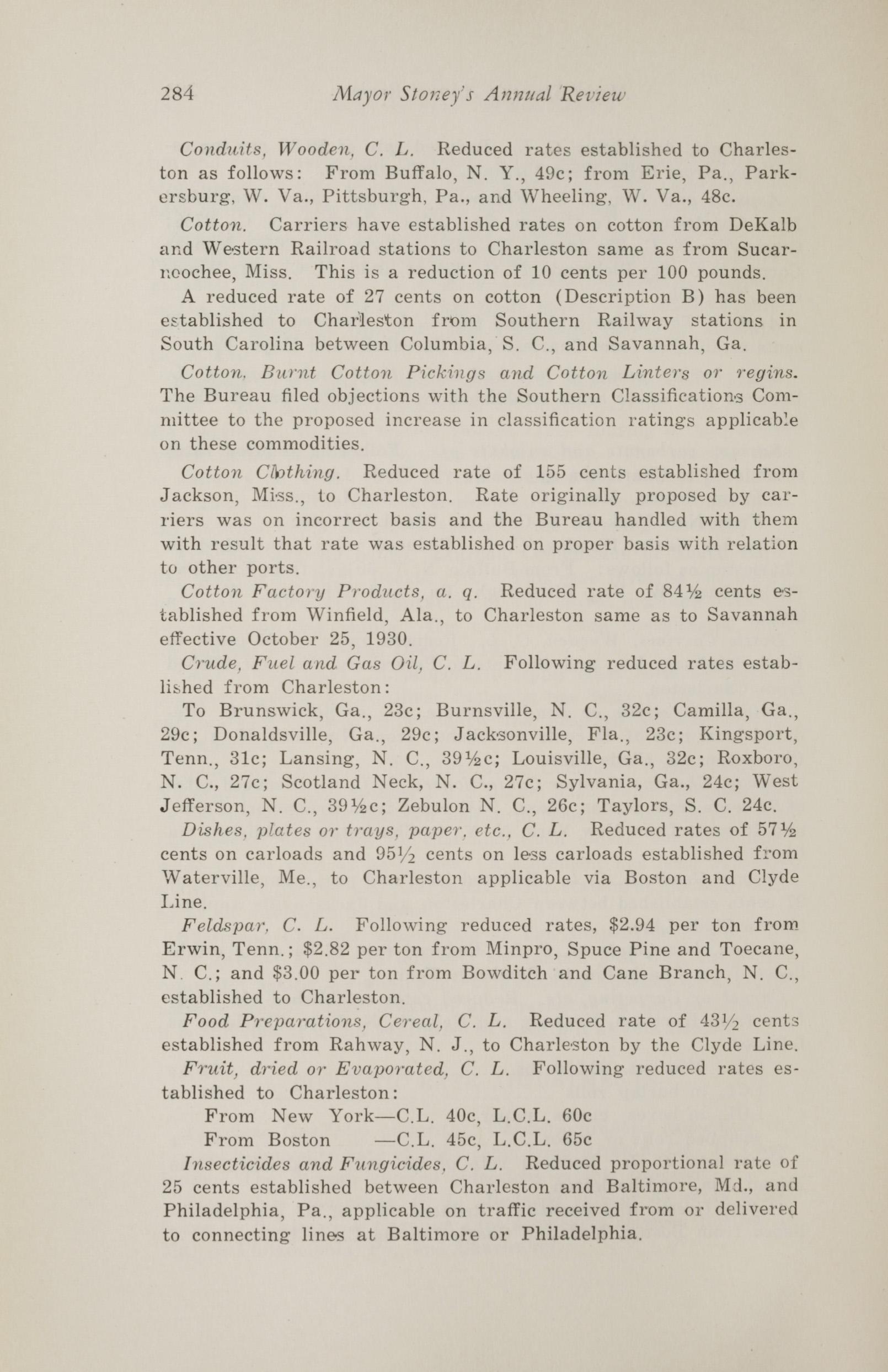 Charleston Yearbook, 1930, page 284