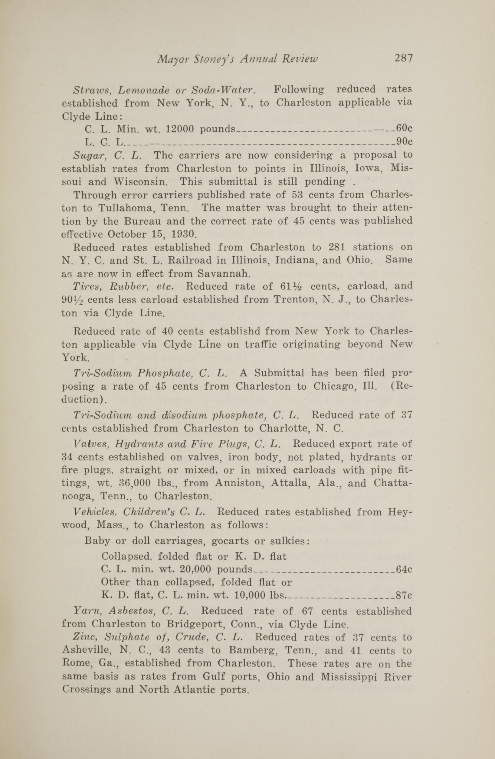 Charleston Yearbook, 1930, page 287