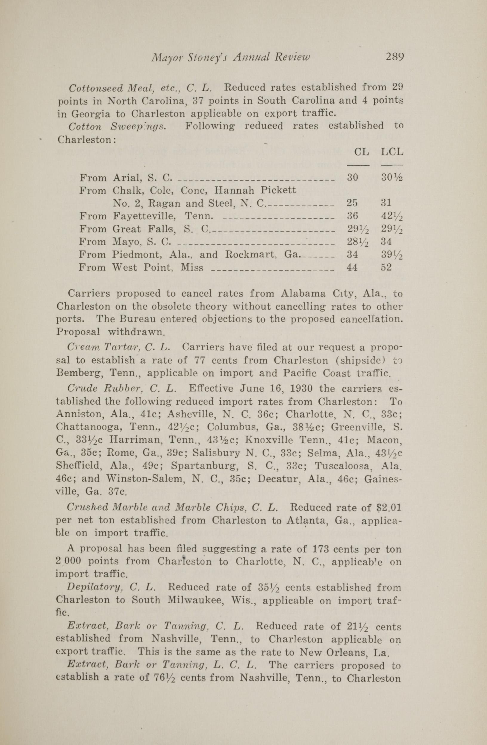 Charleston Yearbook, 1930, page 289