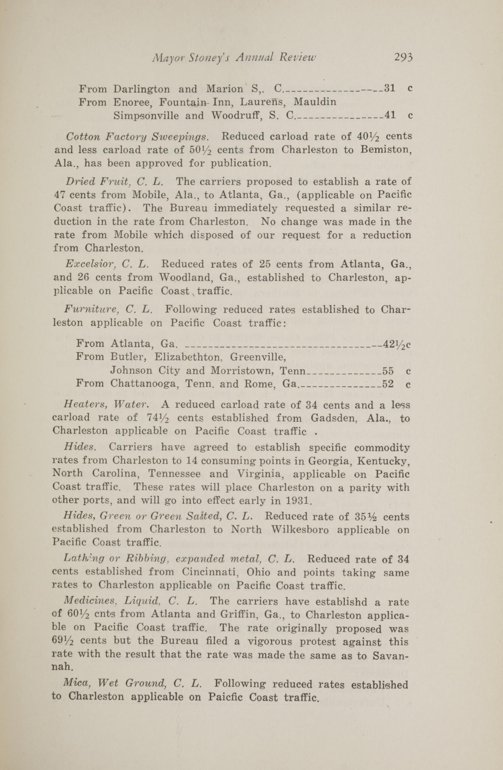 Charleston Yearbook, 1930, page 293