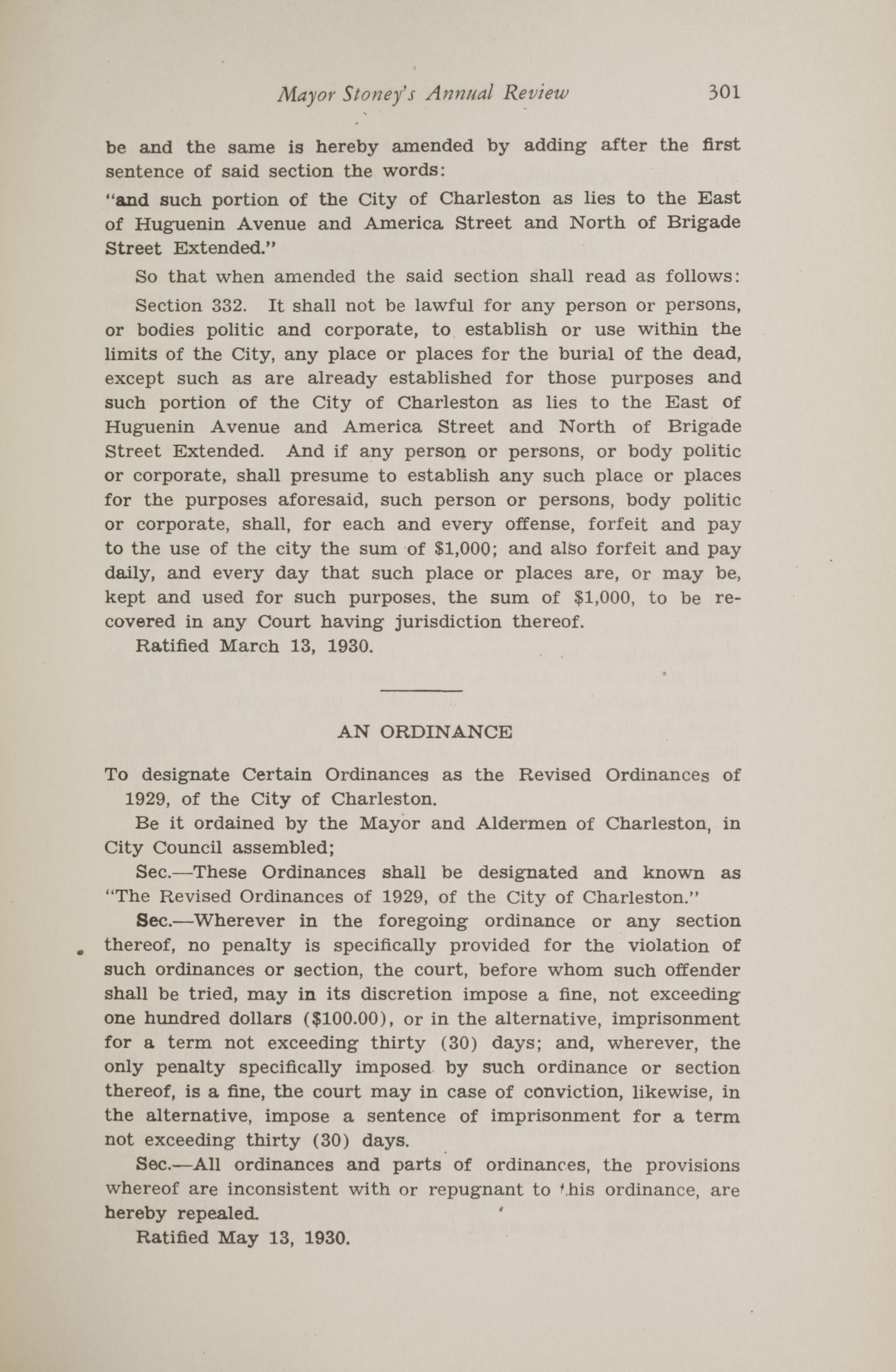 Charleston Yearbook, 1930, page 301