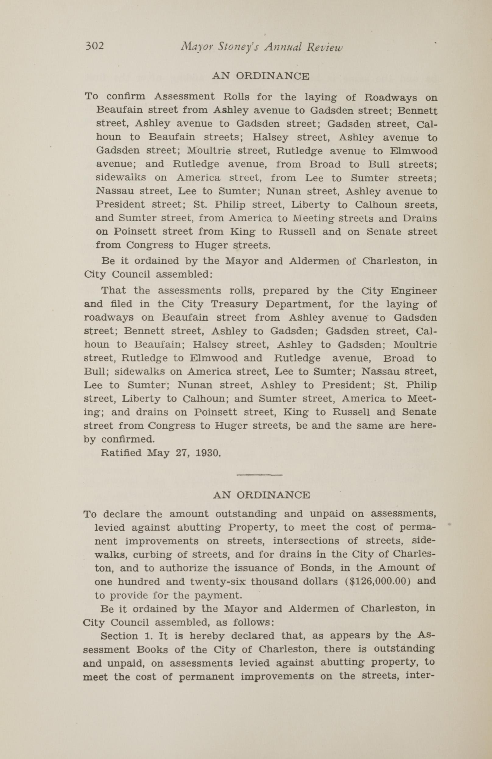 Charleston Yearbook, 1930, page 302