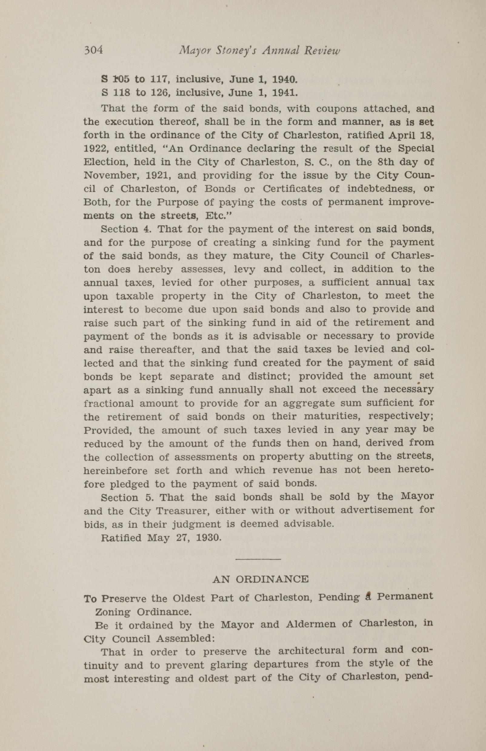 Charleston Yearbook, 1930, page 304