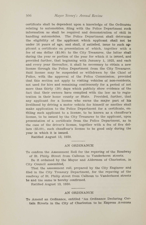 Charleston Yearbook, 1930, page 306