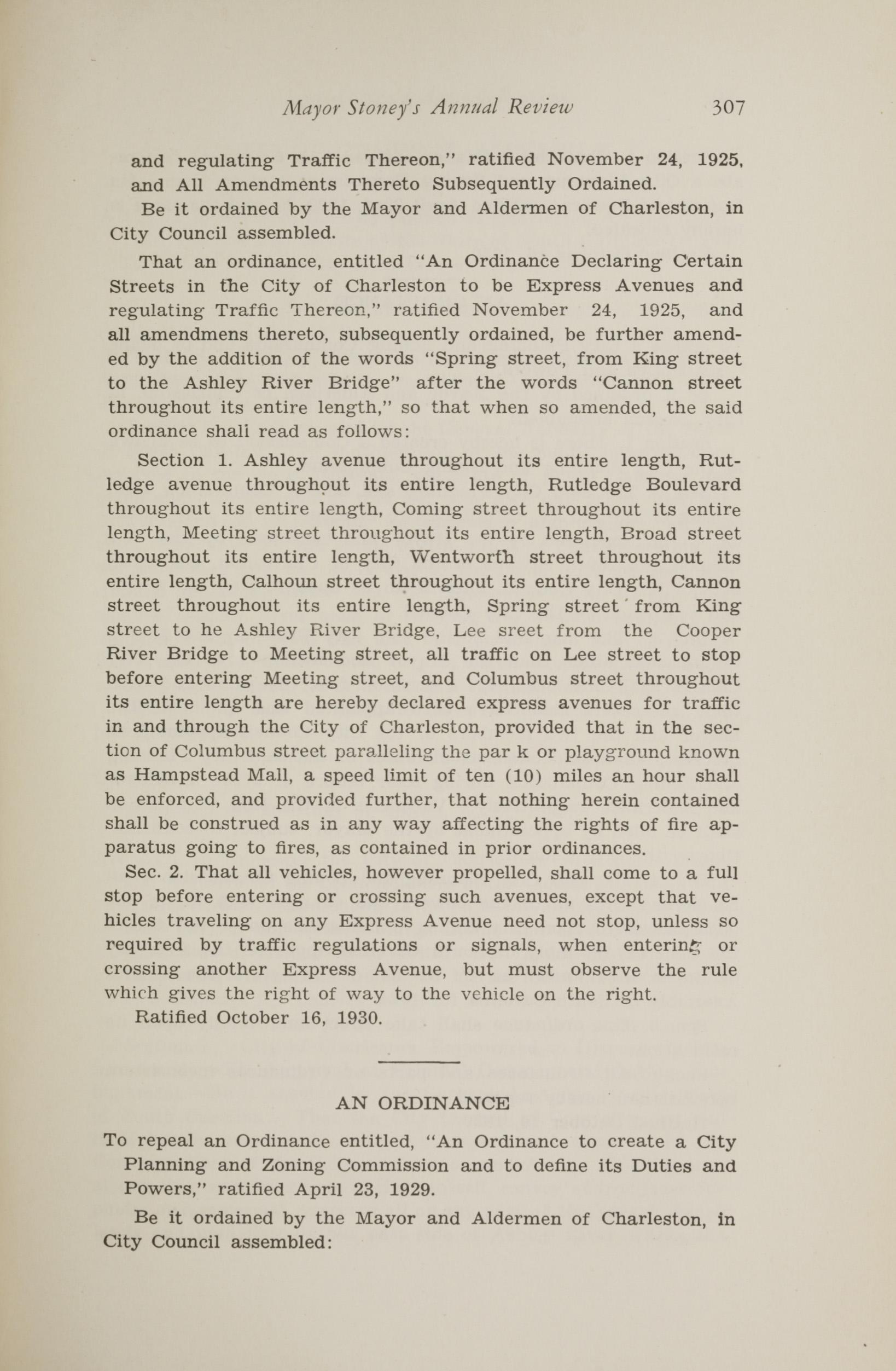 Charleston Yearbook, 1930, page 307