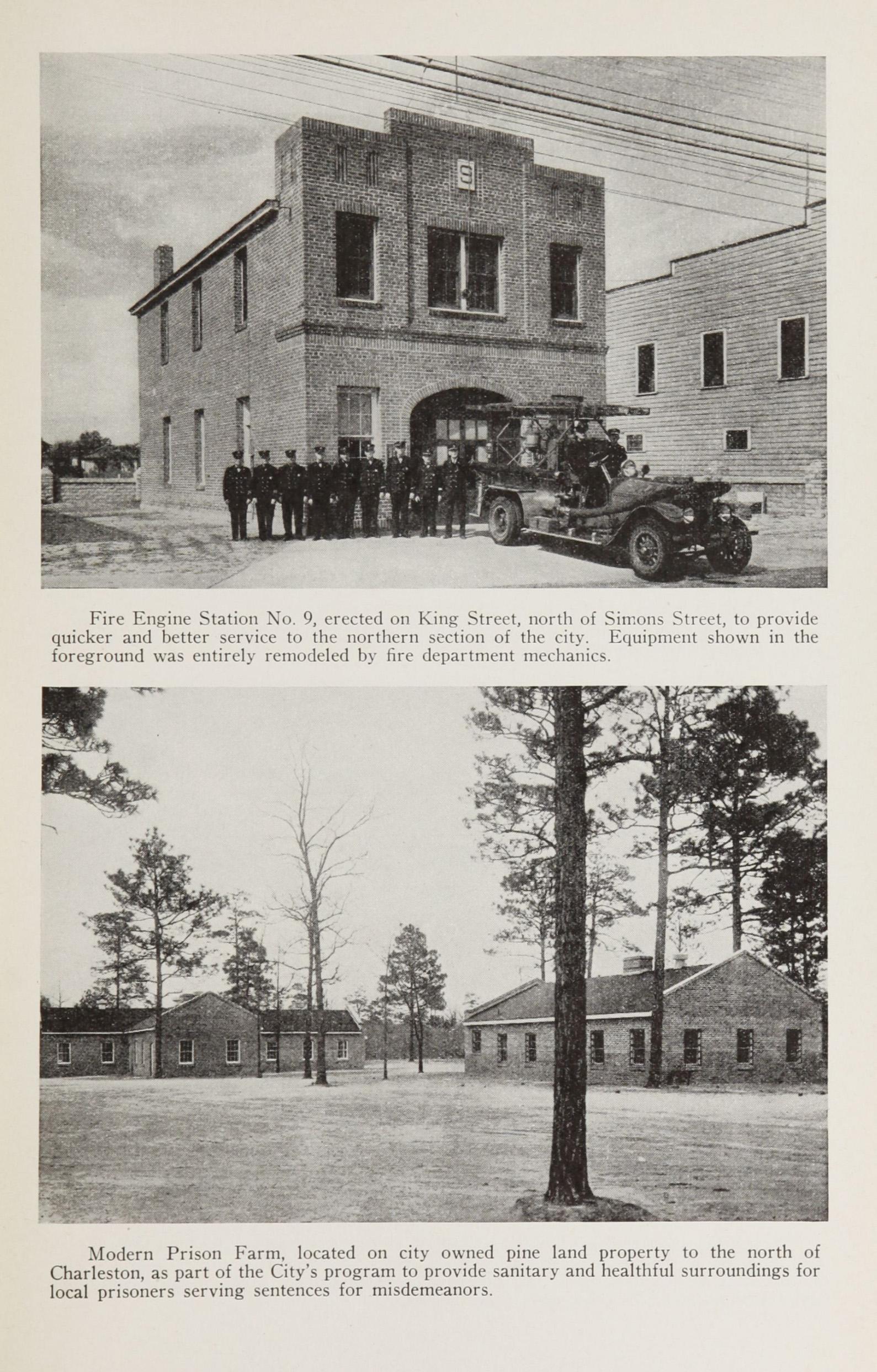 Charleston Yearbook, 1932-1935, insert