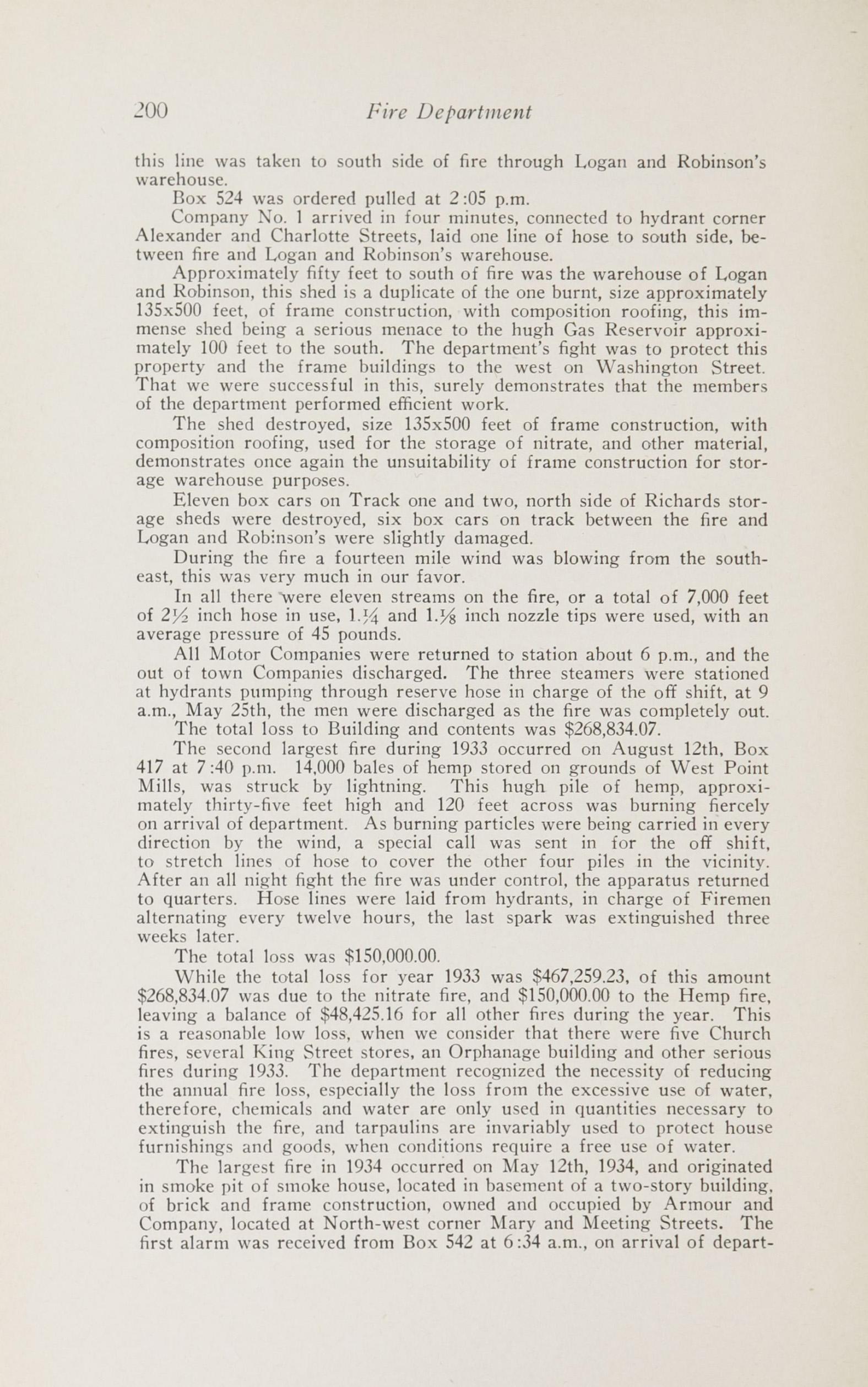 Charleston Yearbook, 1932-1935, page 200